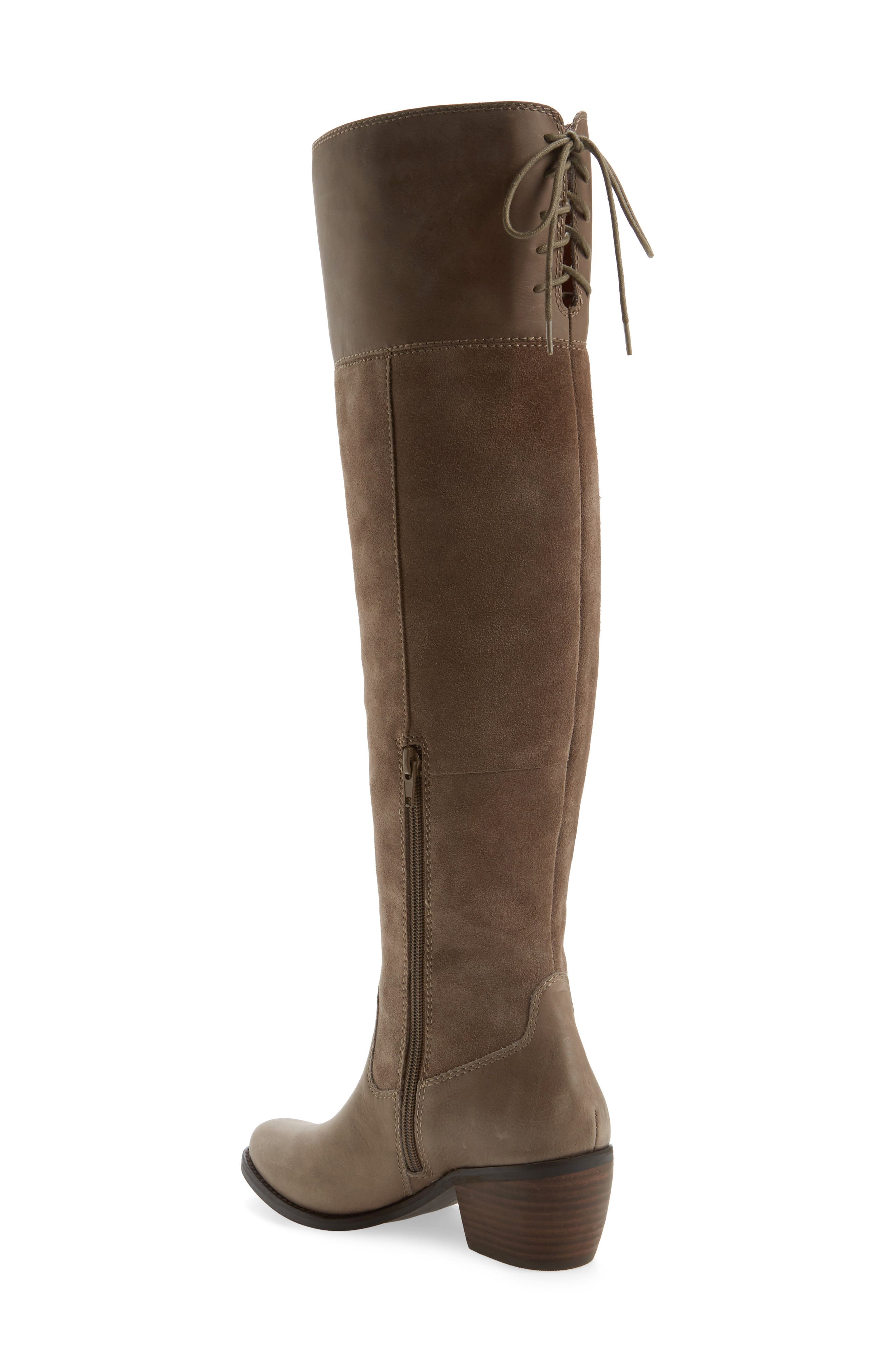 Komah Over the Knee Boot,                             Alternate thumbnail 2, color,                             Brindle Leather