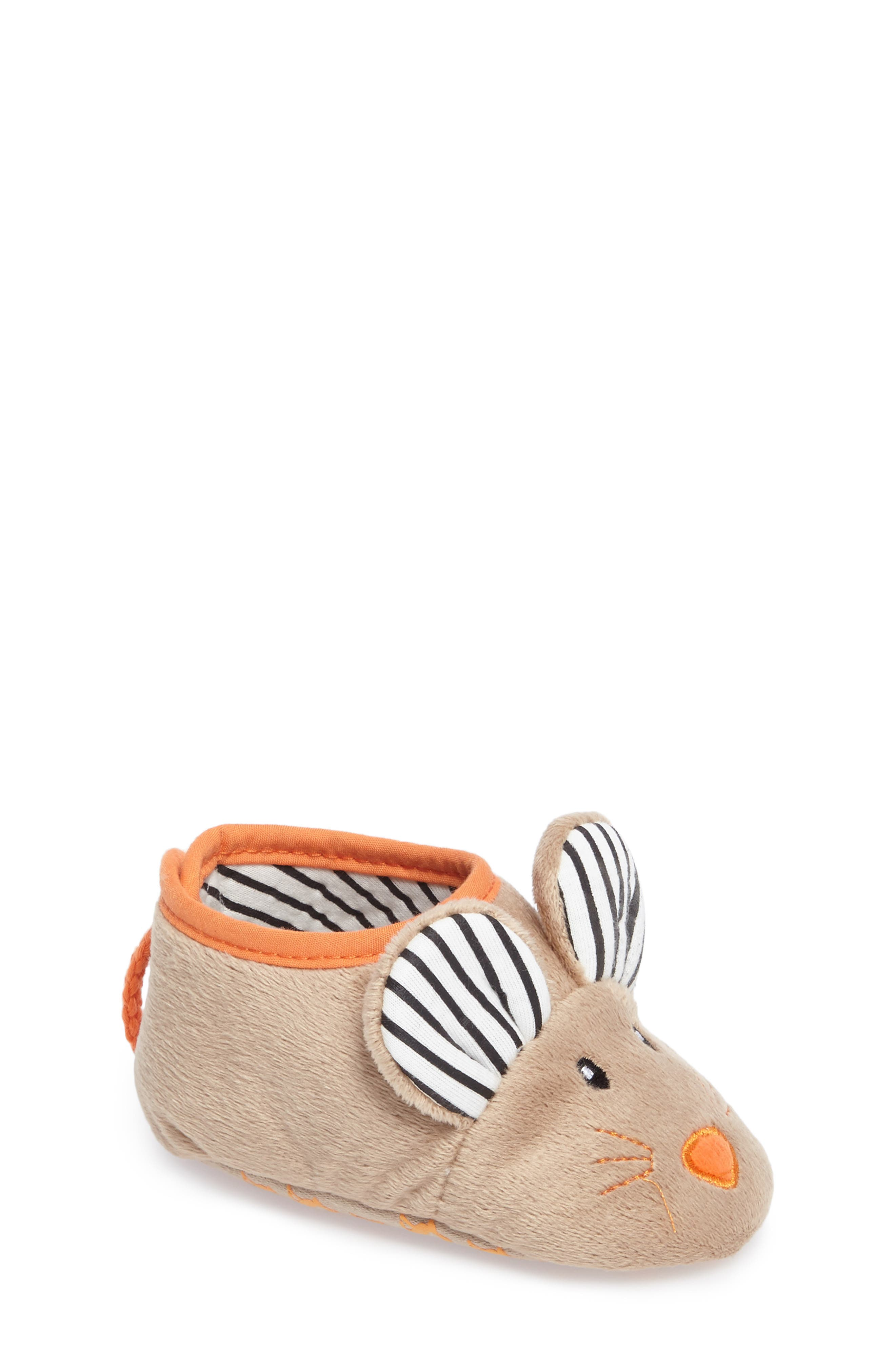 Joules Fuzzy Character Slipper (Baby, Walker & Toddler)