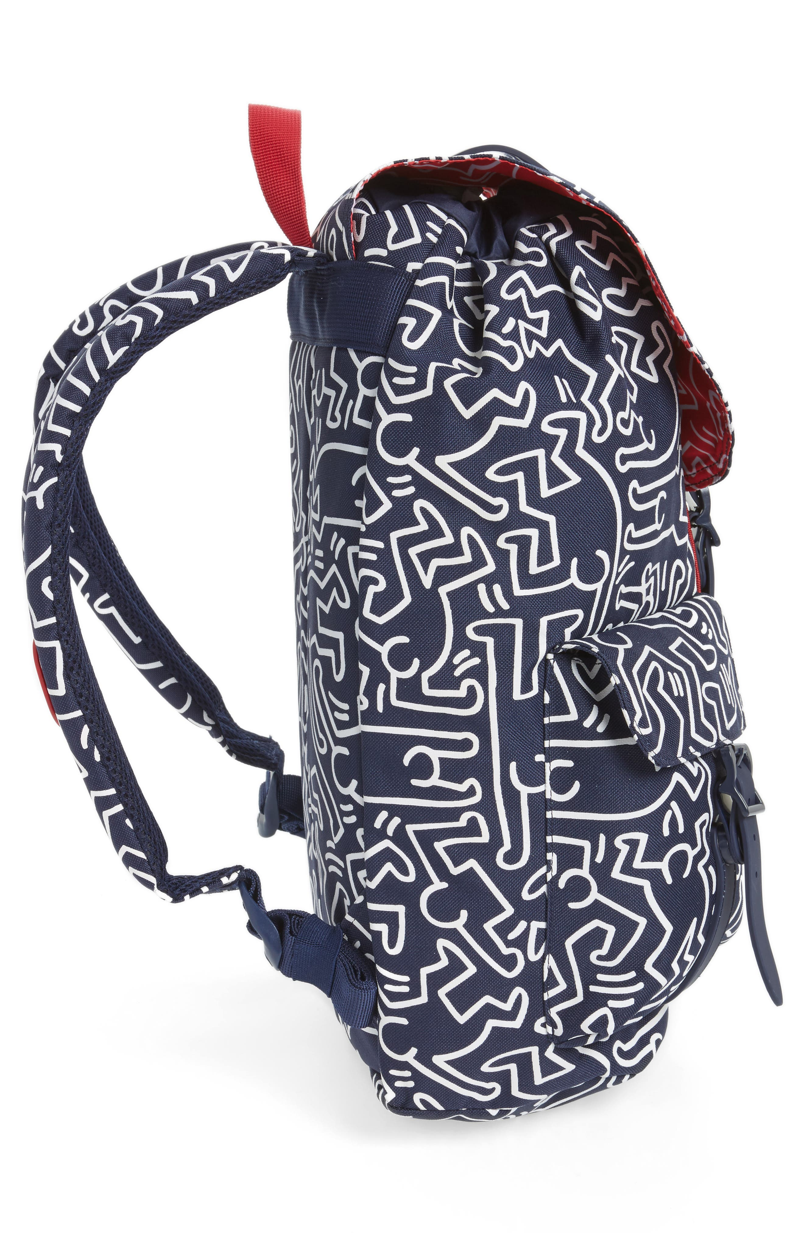 Dawson Keith Haring Backpack,                             Alternate thumbnail 5, color,                             Peacoat Navy