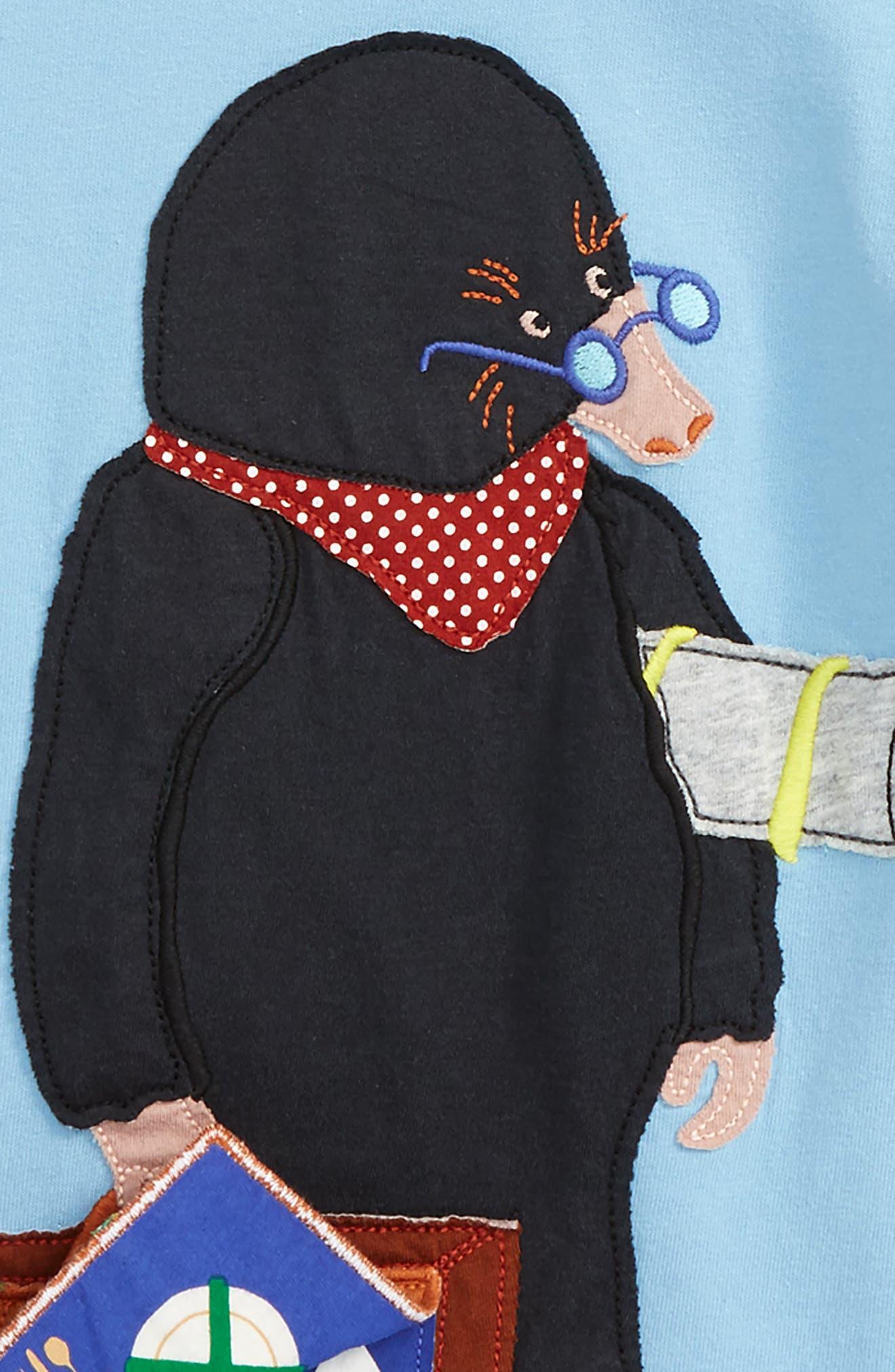 Alternate Image 2  - Mini Boden Layered Fun Animal Long Sleeve T-Shirt (Toddler Boys, Little Boys & Big Boys)