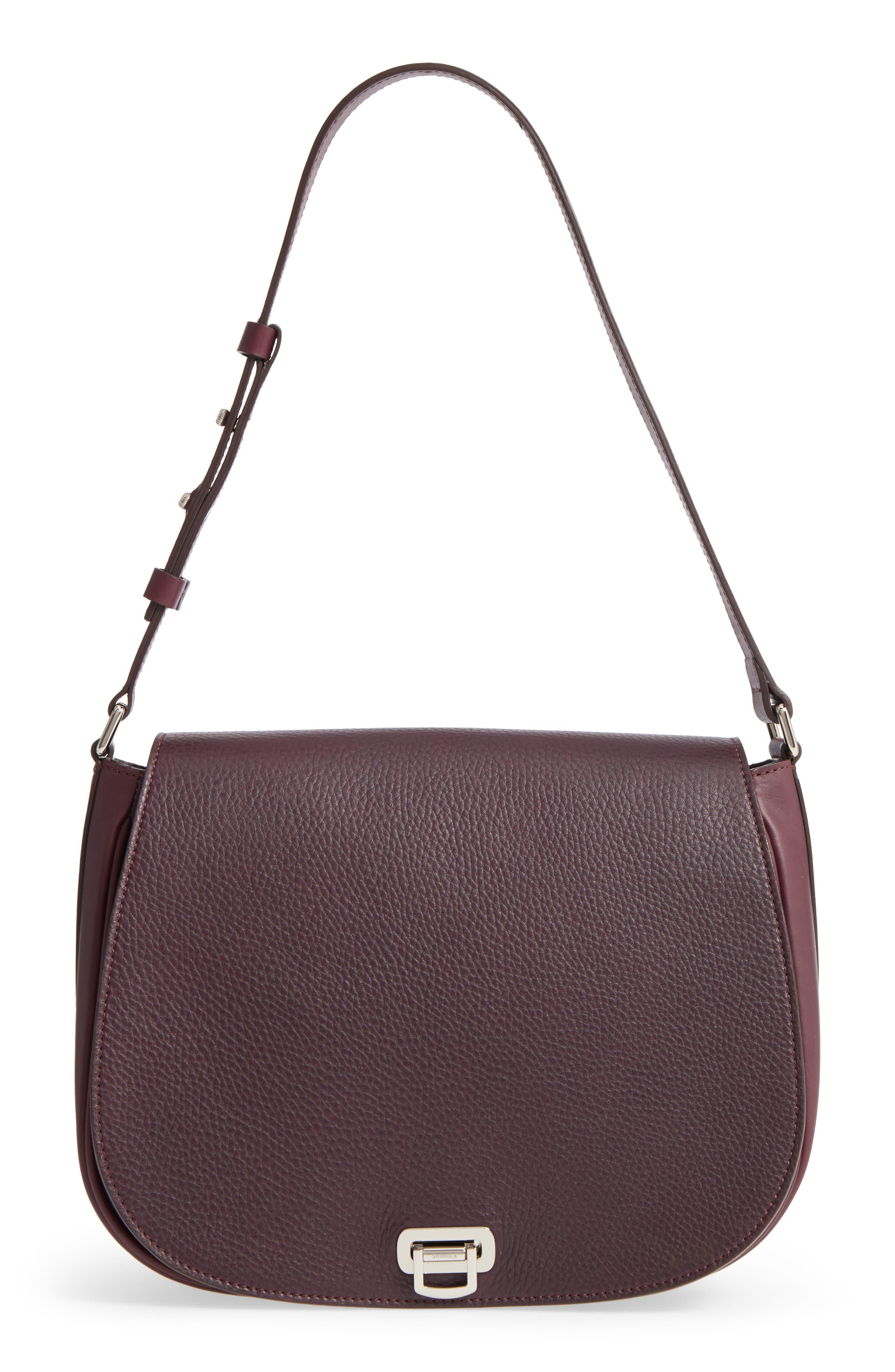 Alternate Image 1 Selected - Shinola Calfskin Leather Shoulder Bag
