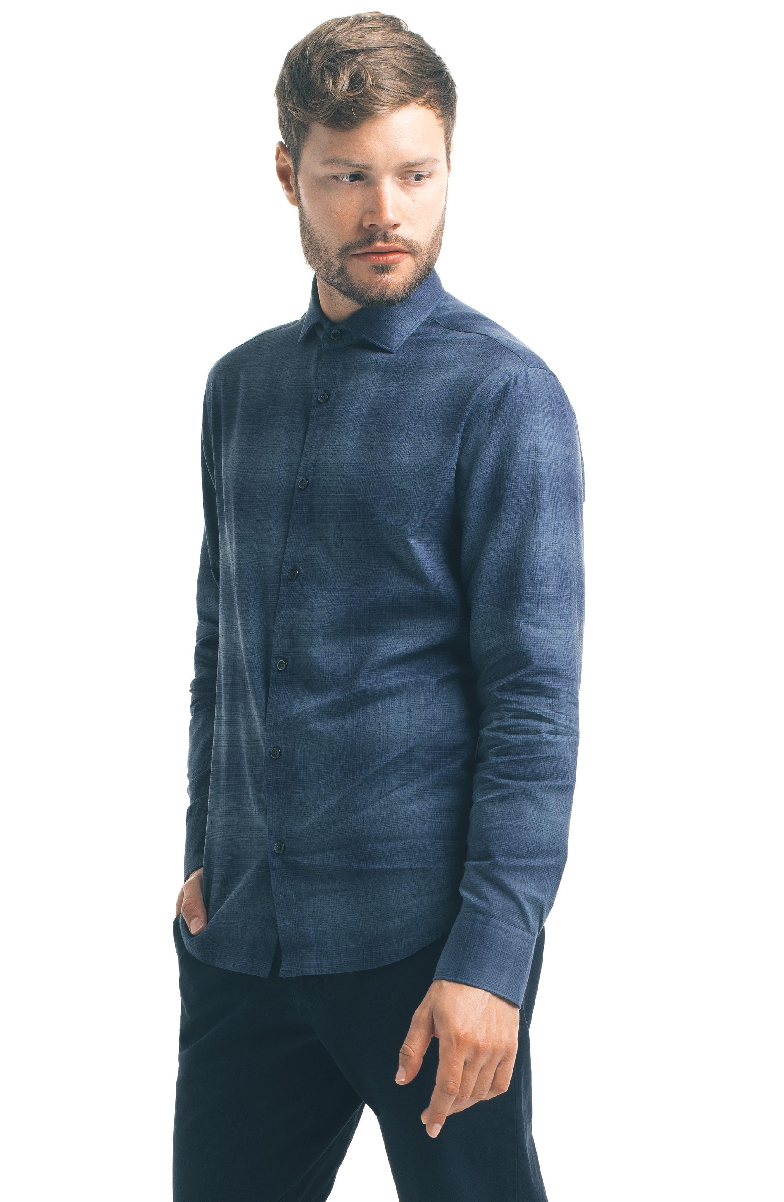 Alternate Image 5  - Good Man Brand Check Sport Shirt