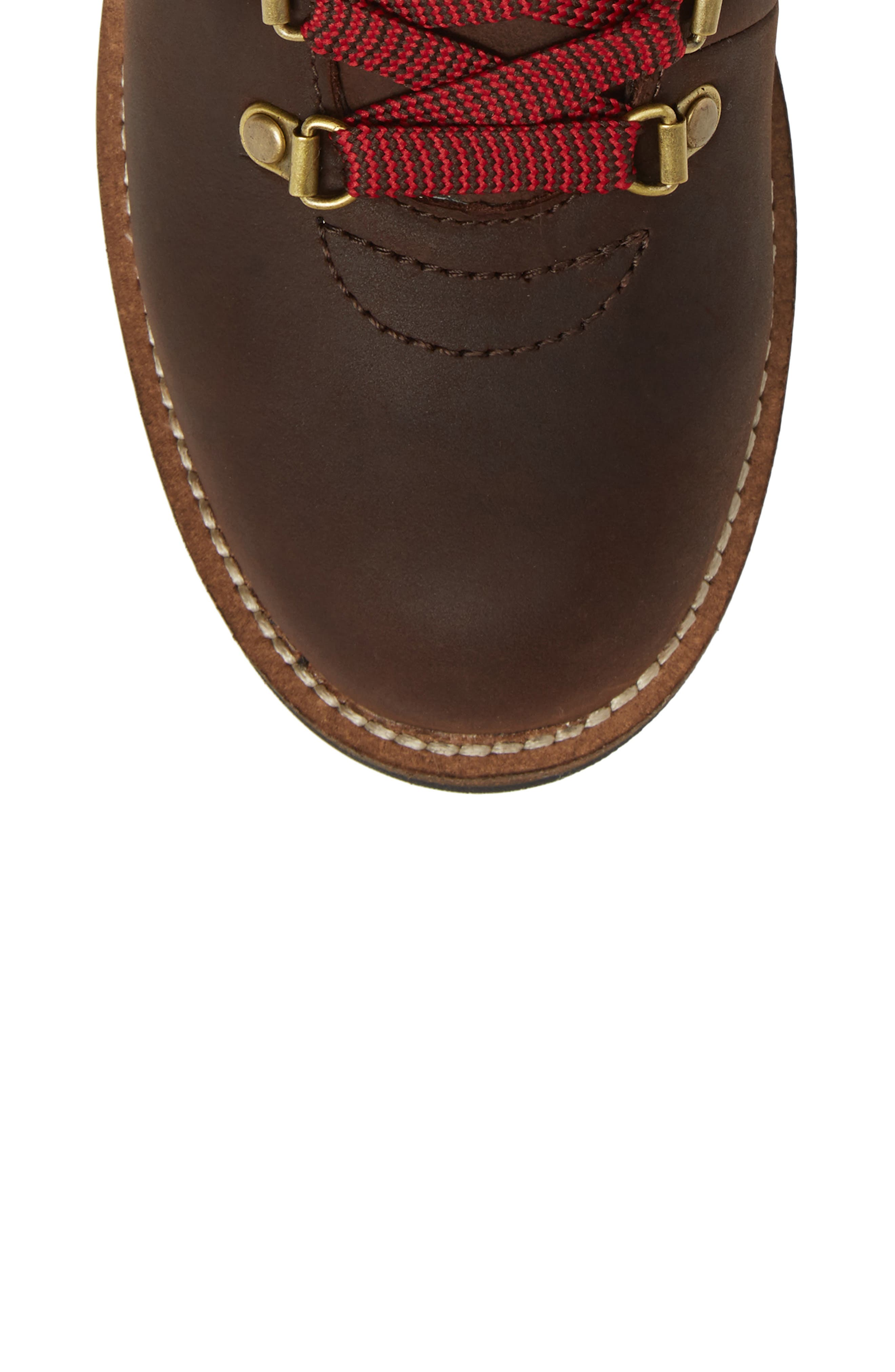 Surrey II Waterproof Boot,                             Alternate thumbnail 5, color,                             Brown Leather