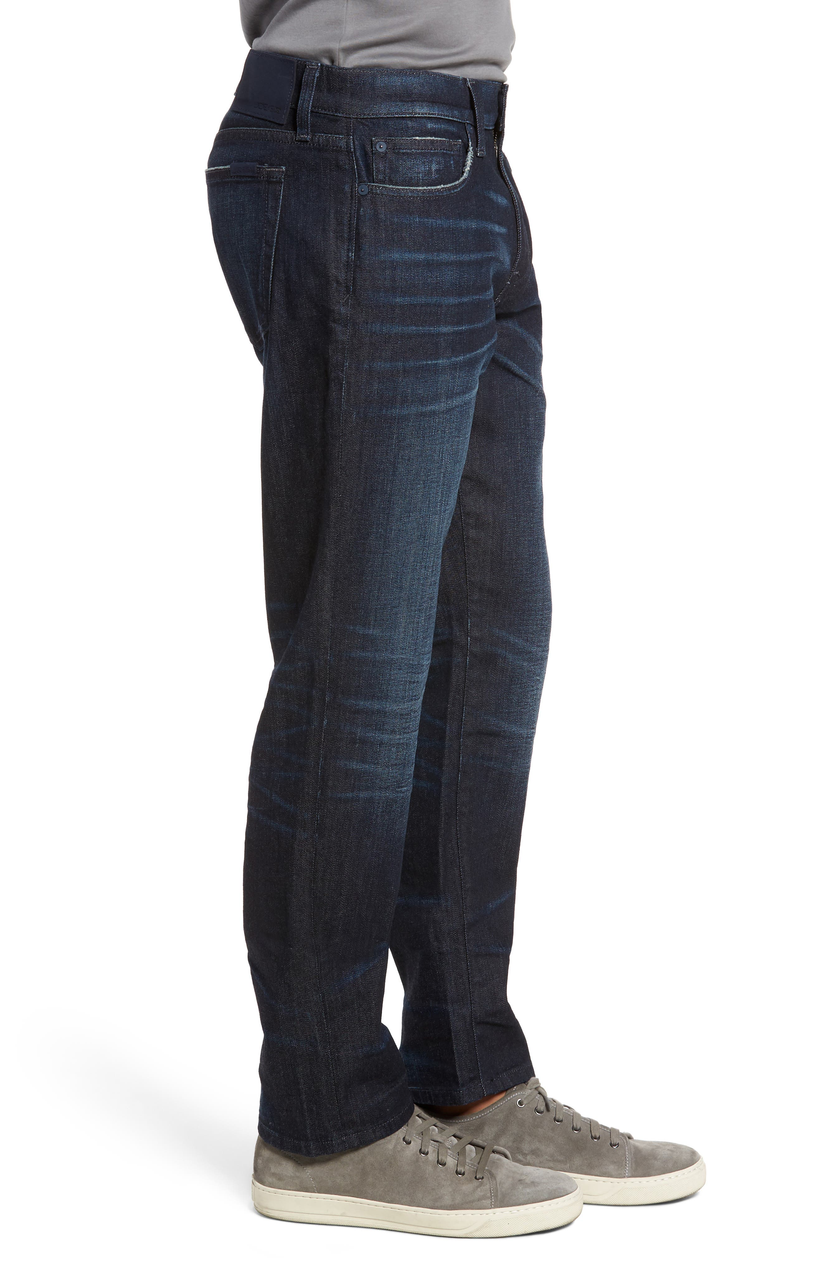 Brixton Slim Straight Fit Jeans,                             Alternate thumbnail 3, color,                             Maag