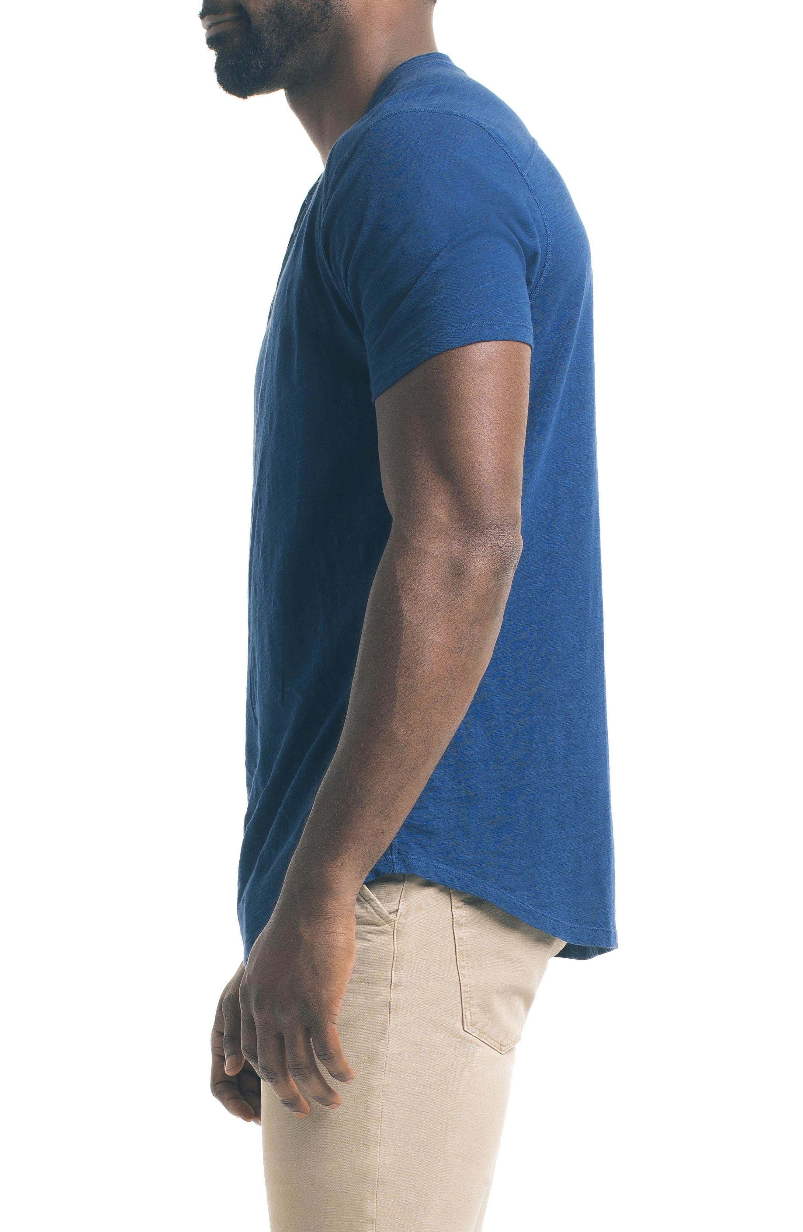 Alternate Image 3  - Good Man Brand Short Sleeve Slub Henley