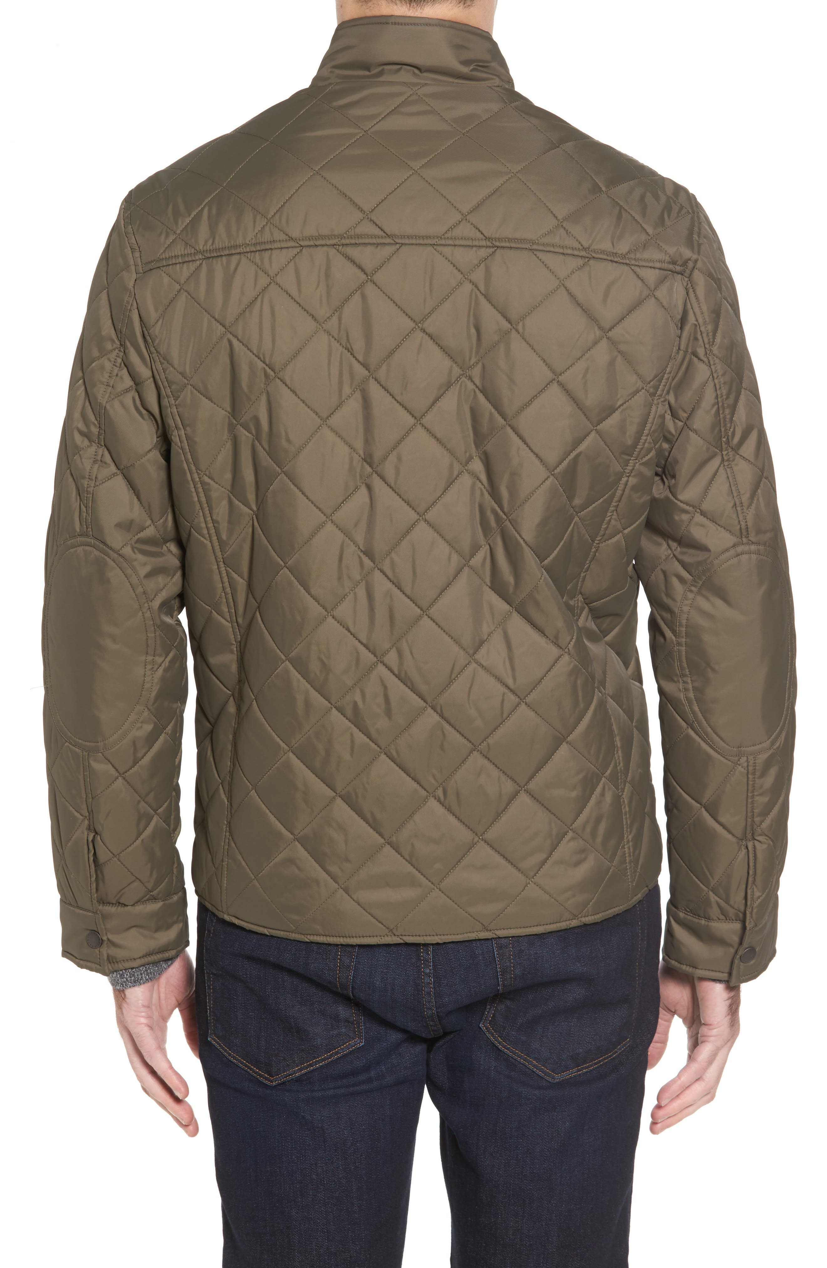 Quilted Jacket,                             Alternate thumbnail 2, color,                             Olive