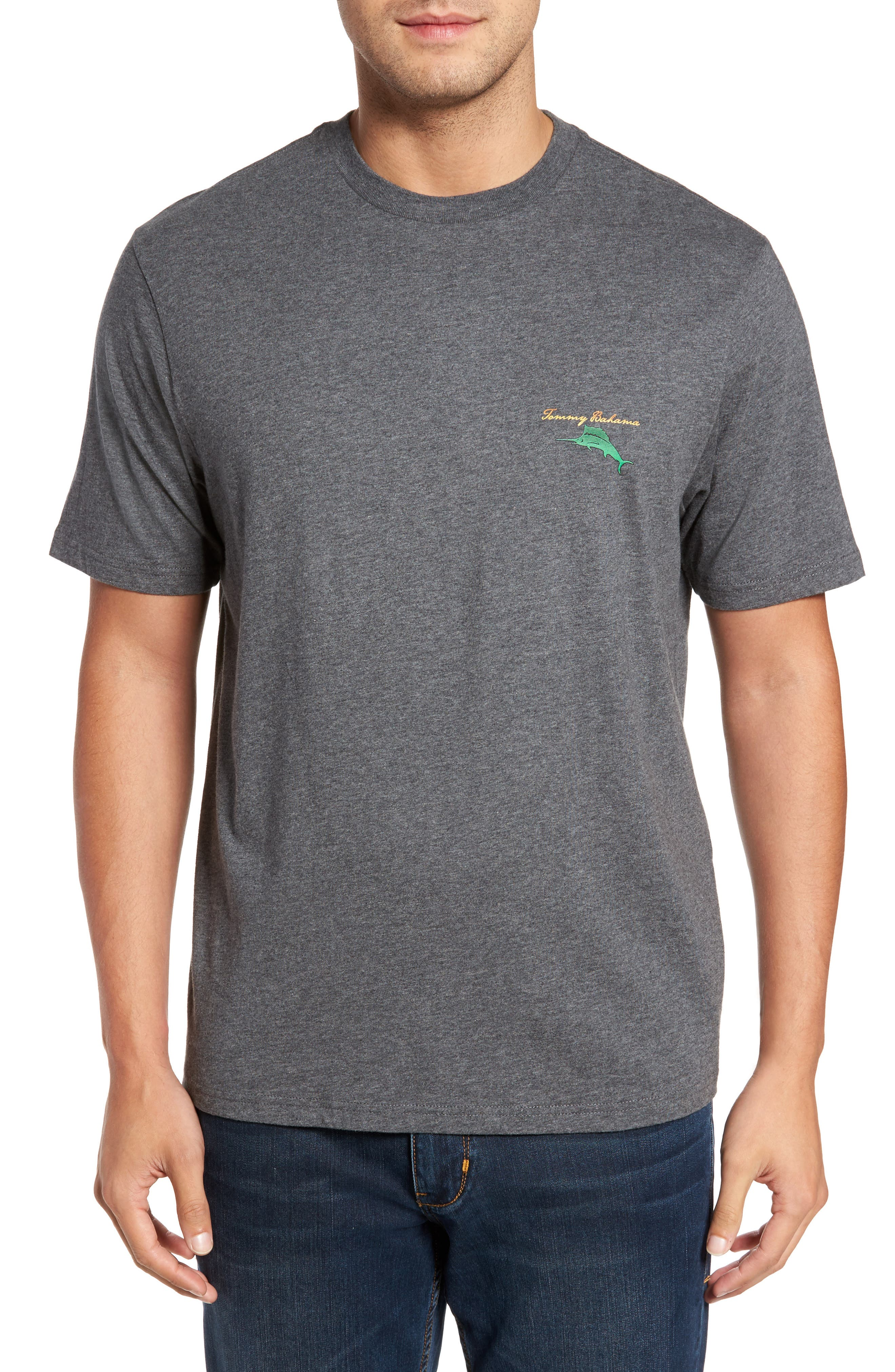 Alternate Image 1 Selected - Tommy Bahama The Fire Is So Delightful Graphic T-Shirt