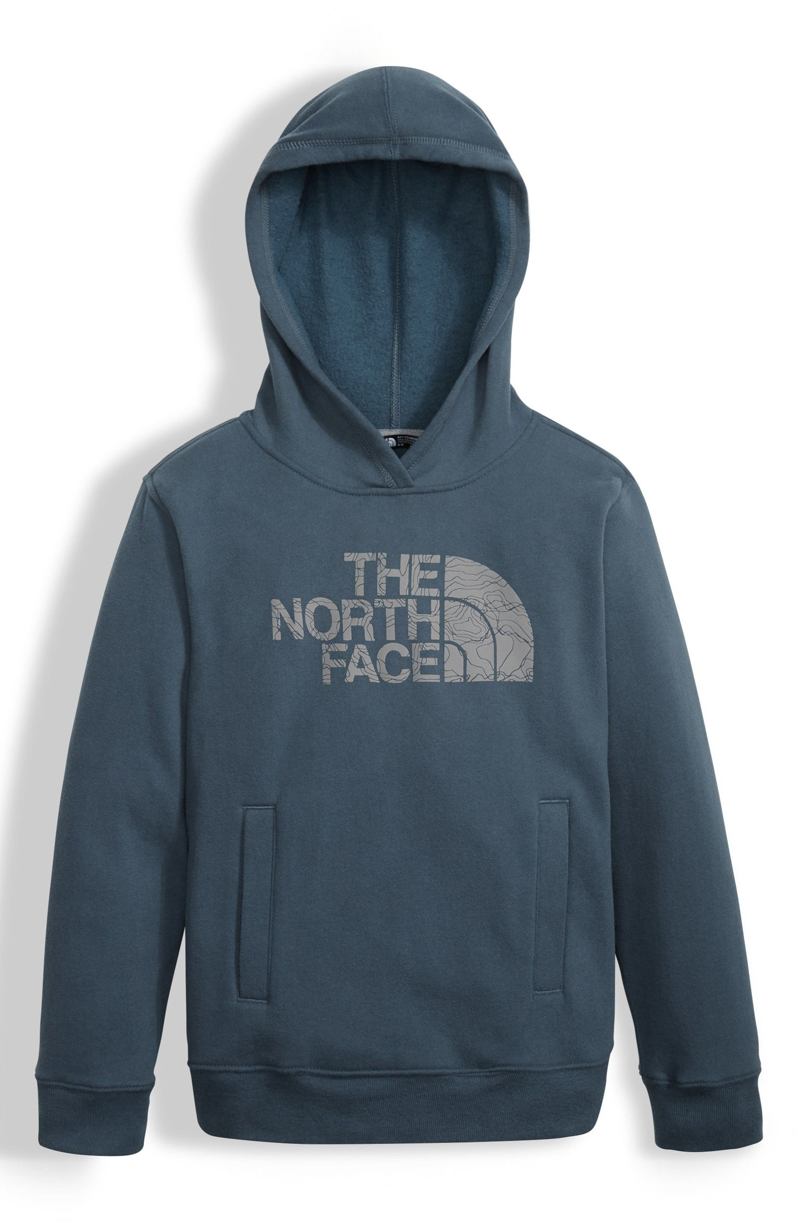The North Face Logo Graphic Hoodie (Big Boys)