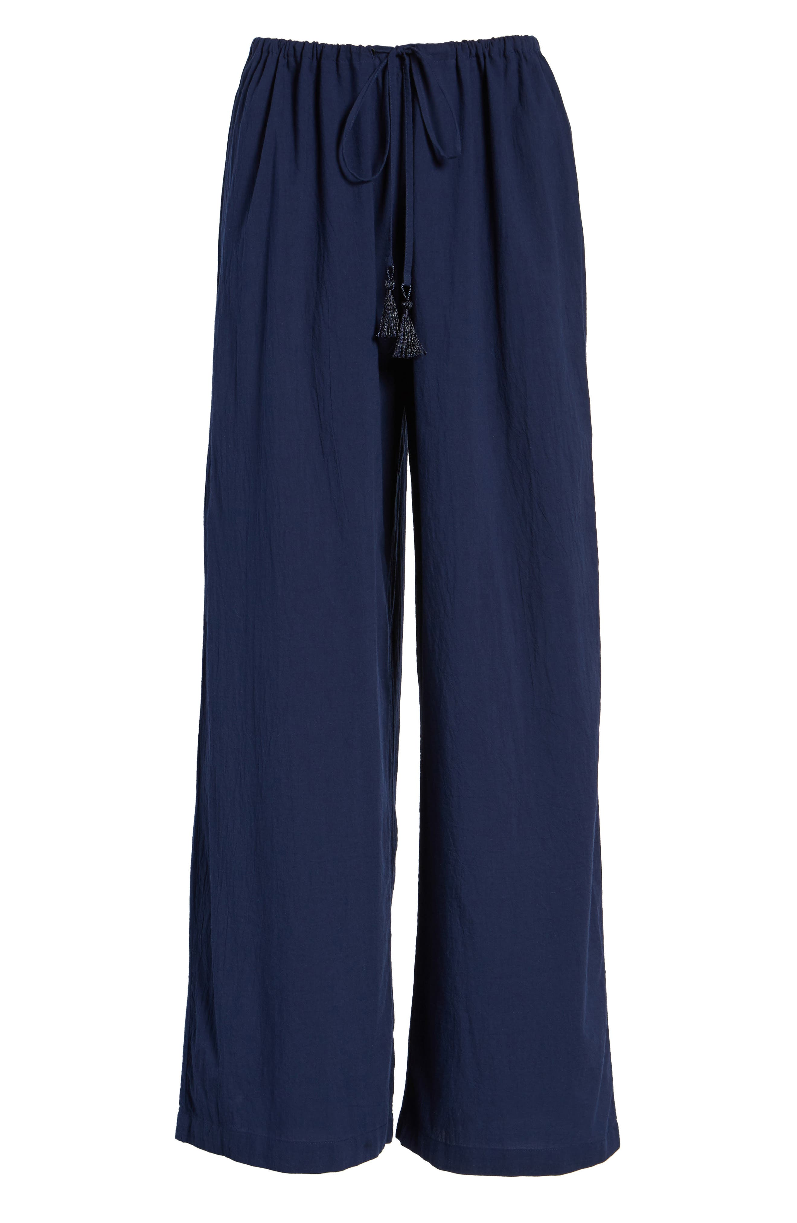 Cover-Up Pants,                         Main,                         color, Mare Navy