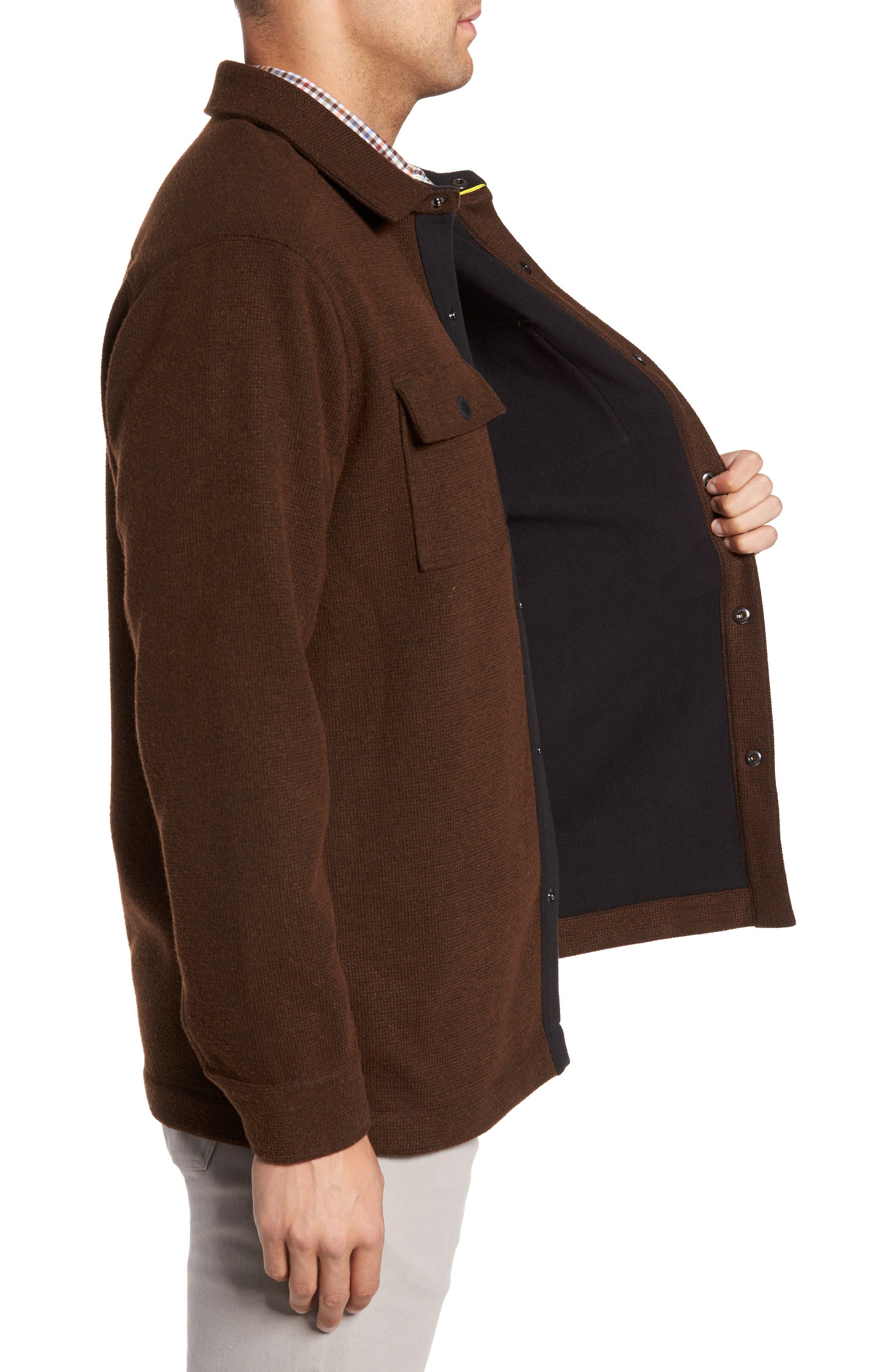 Alternate Image 3  - Tommy Bahama Paradise Creek Snap Front Fleece Jacket