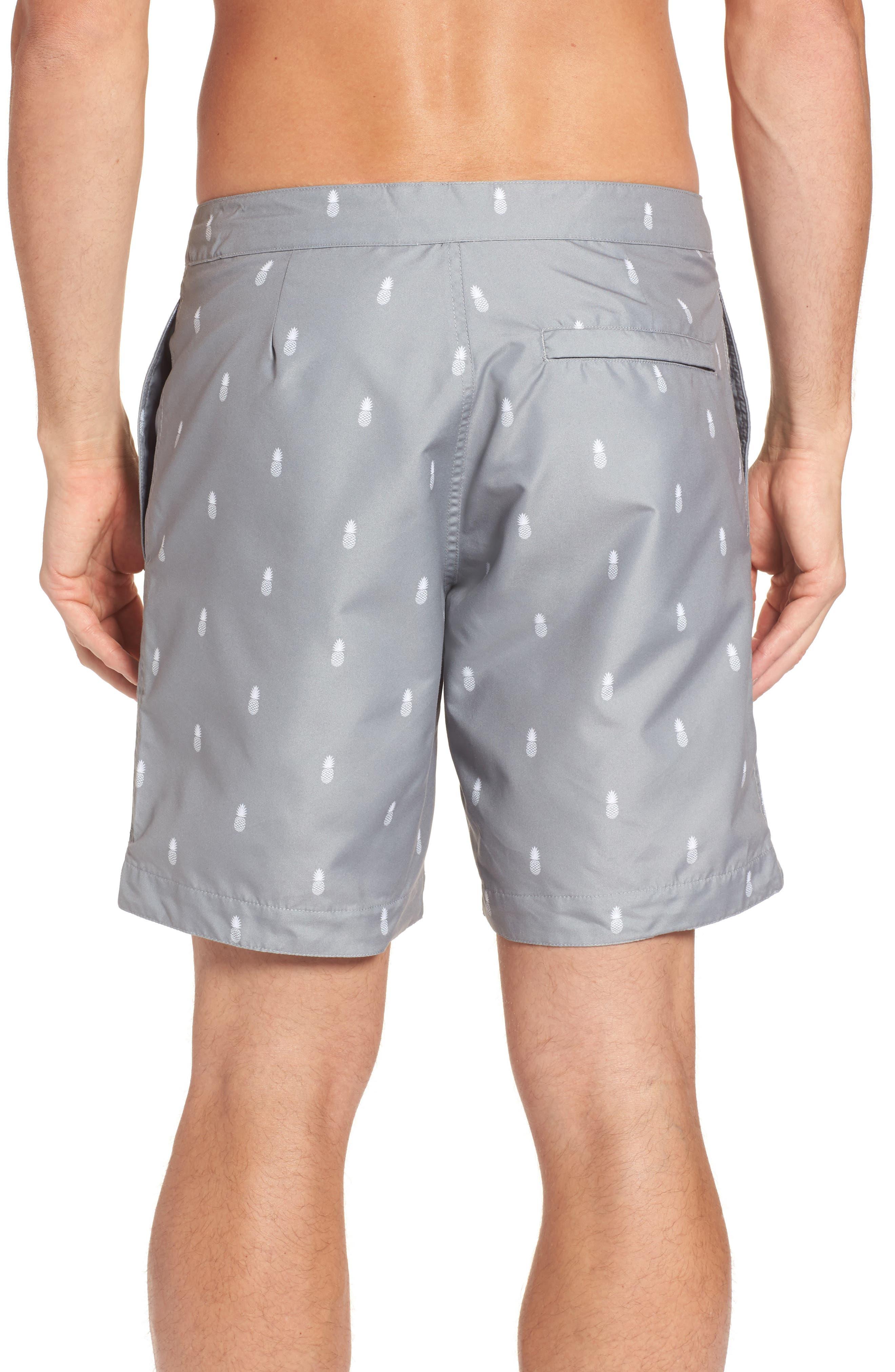 Alternate Image 2  - boto Aruba Tailored Fit Swim Trunks