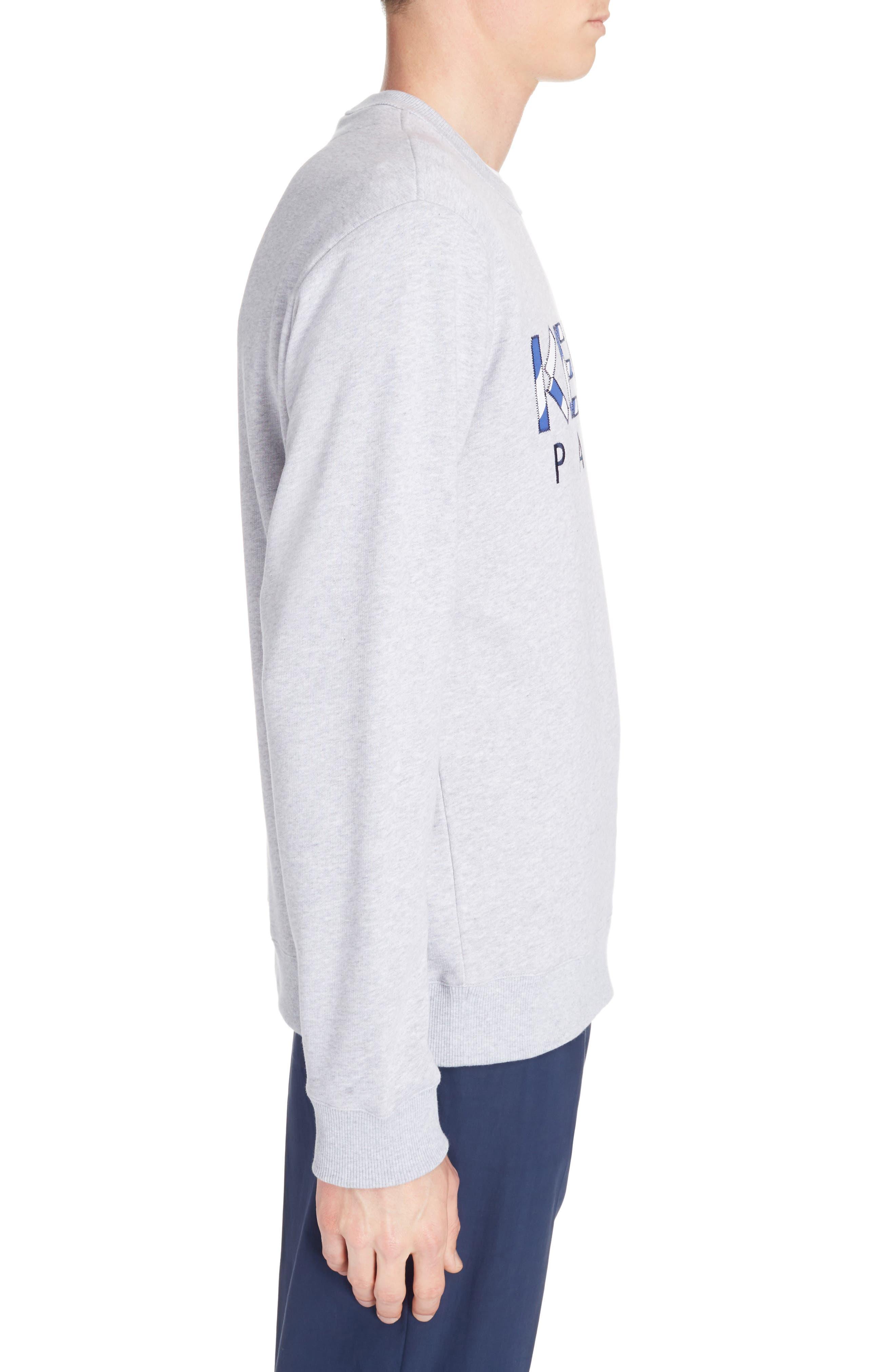 Alternate Image 3  - KENZO Stripe Logo Graphic Sweatshirt