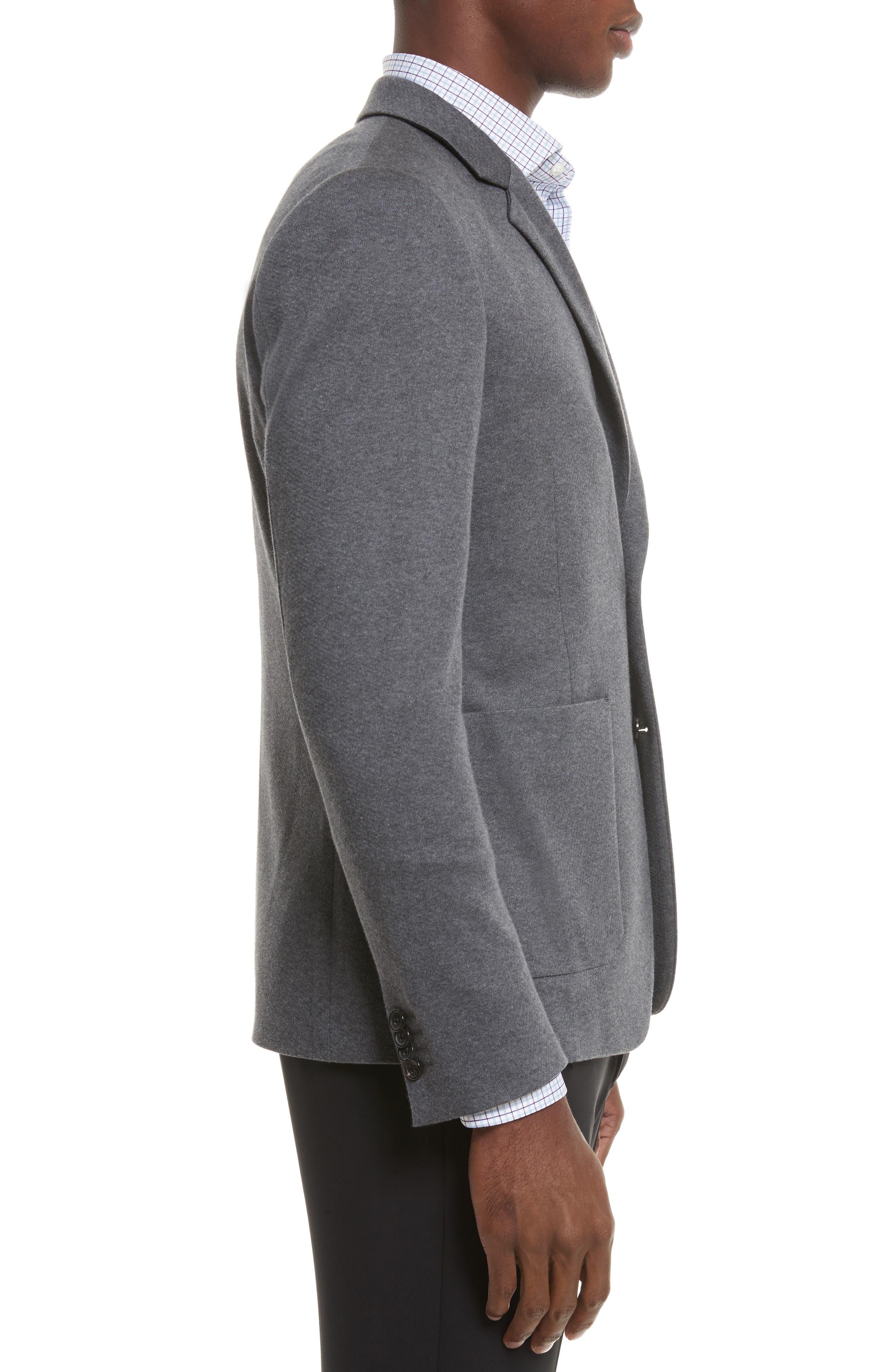 Slim Fit Sport Coat,                             Alternate thumbnail 3, color,                             Grey