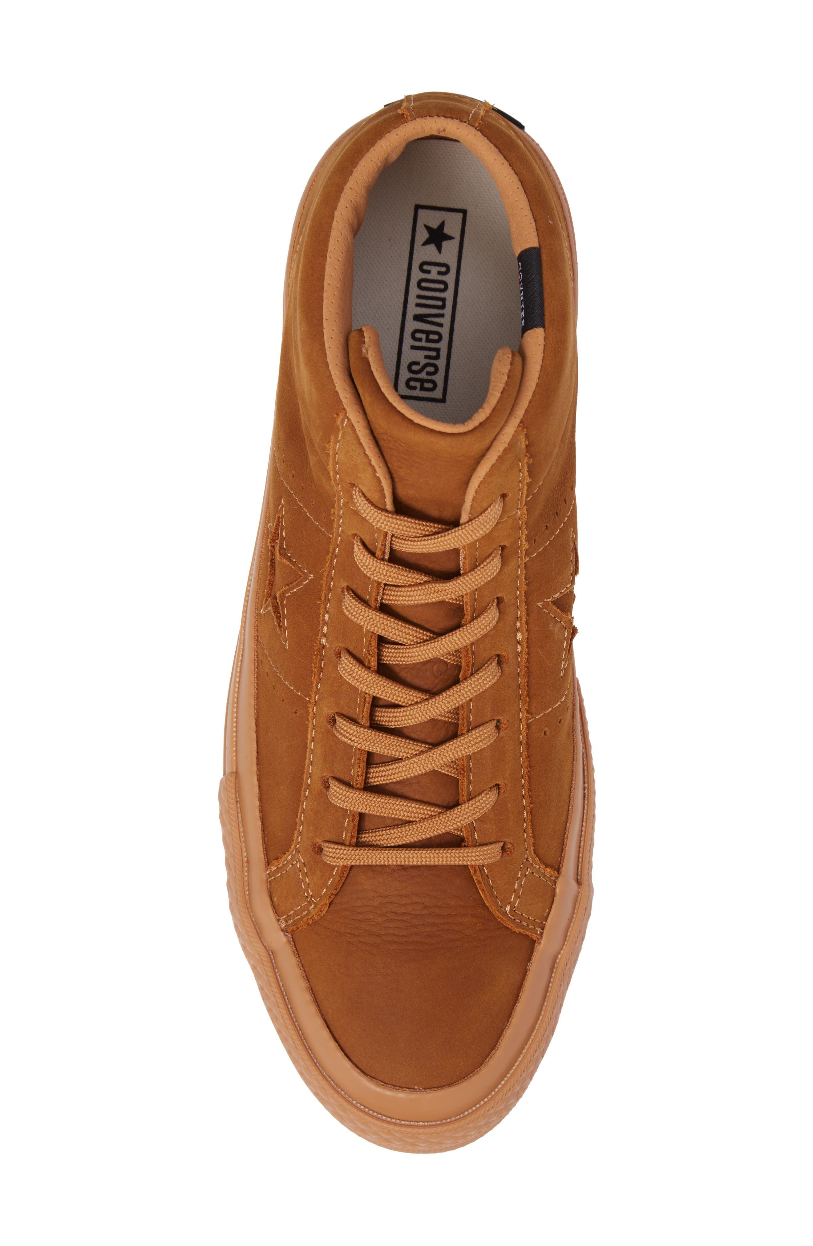 Alternate Image 5  - Converse One Star Mid Sneaker (Men)