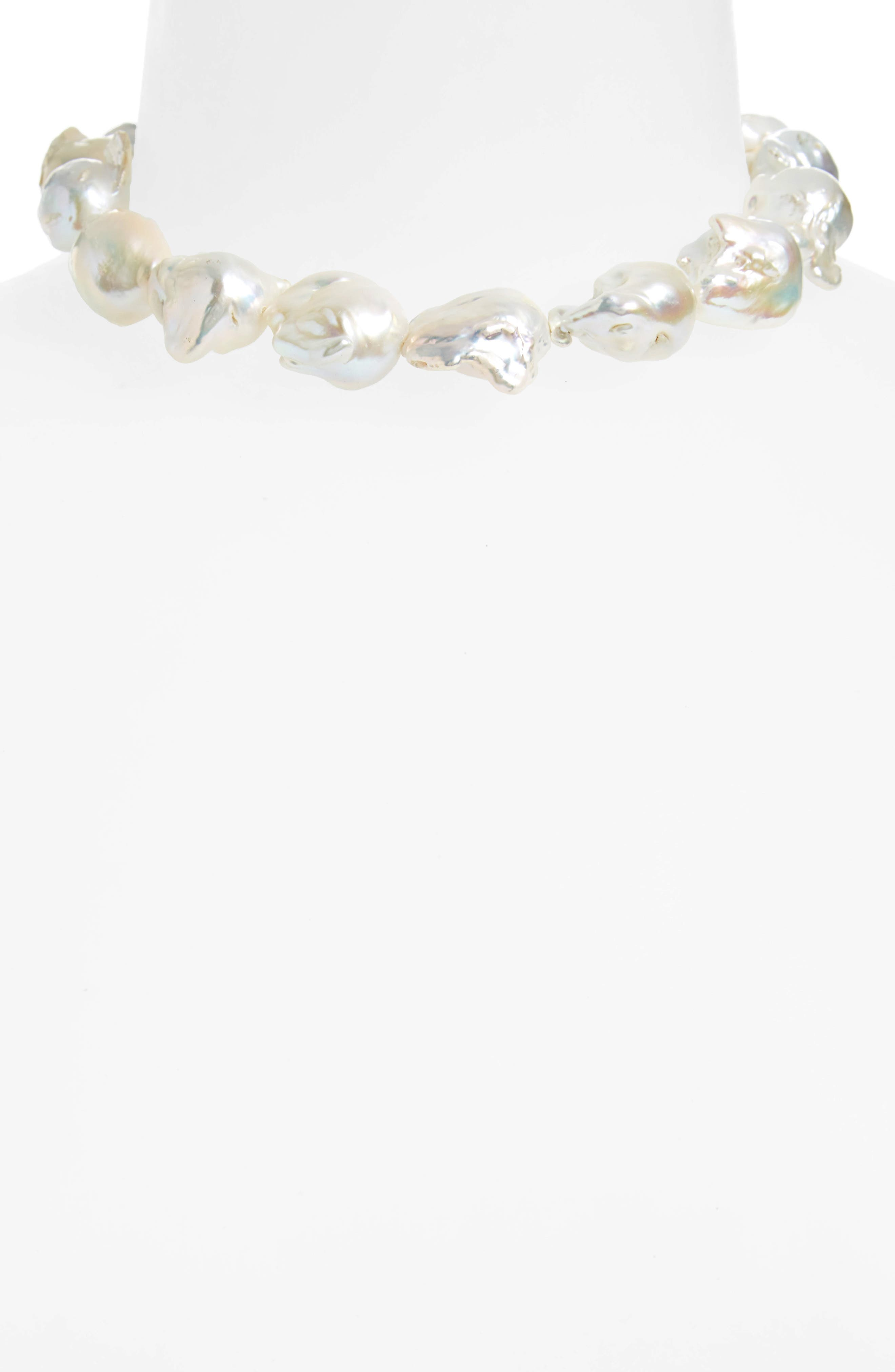 Alternate Image 2  - Sophie Buhai Baroque Pearl Collar Necklace