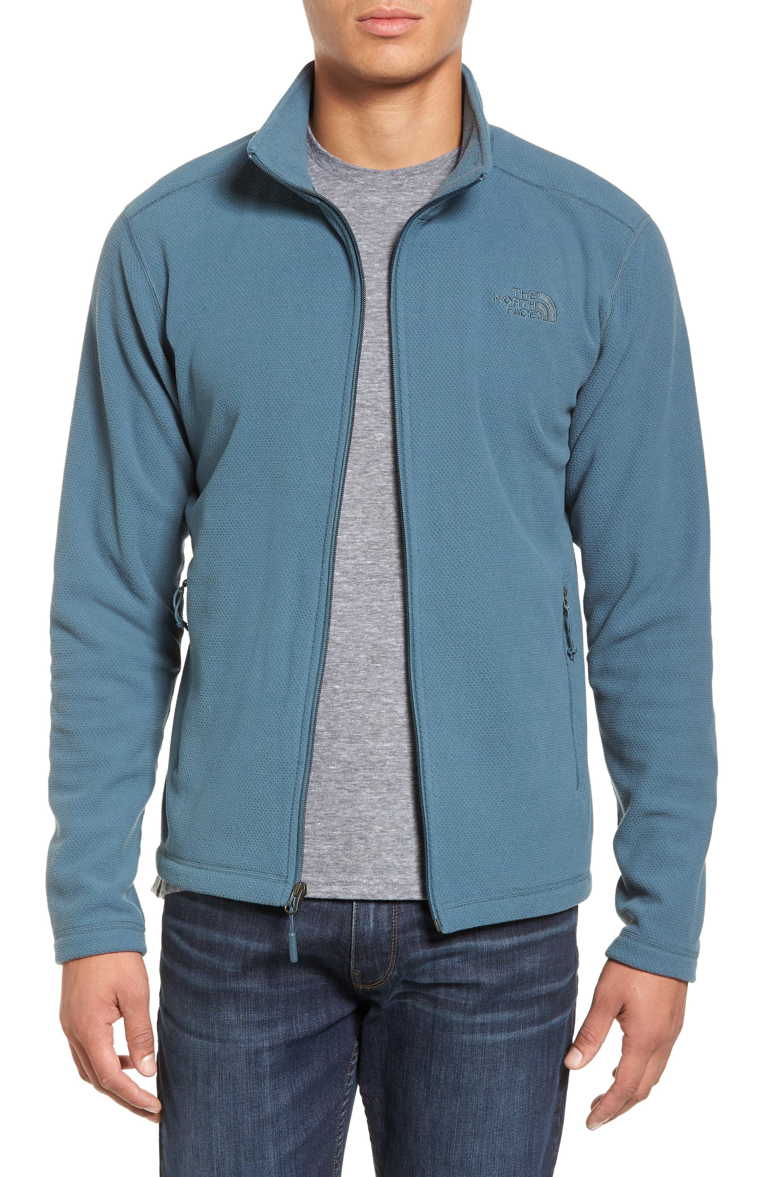 Cap Rock Fleece Jacket,                         Main,                         color, Conquer Blue