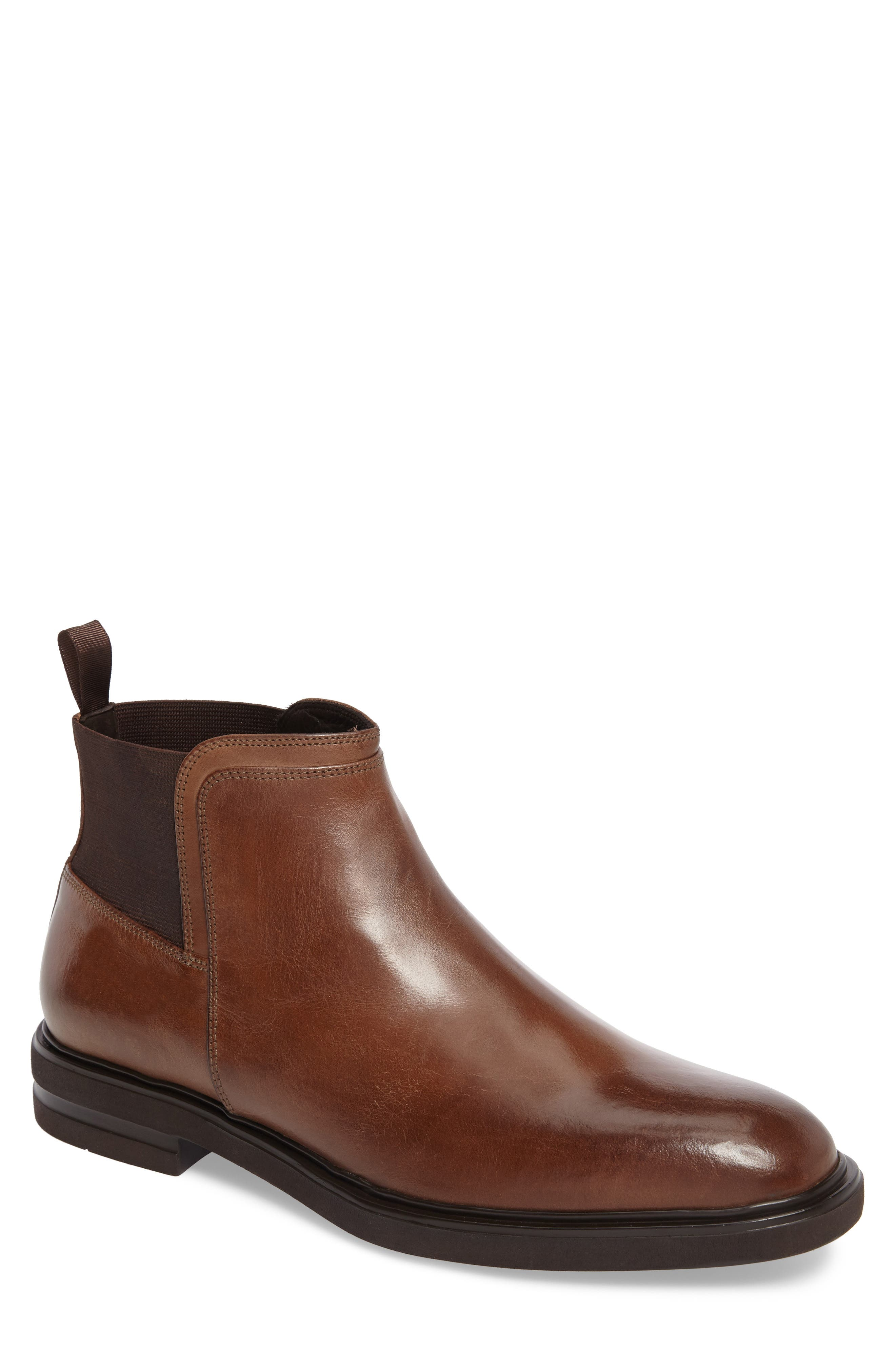 Enrico Chelsea Boot,                             Main thumbnail 1, color,                             Expresso