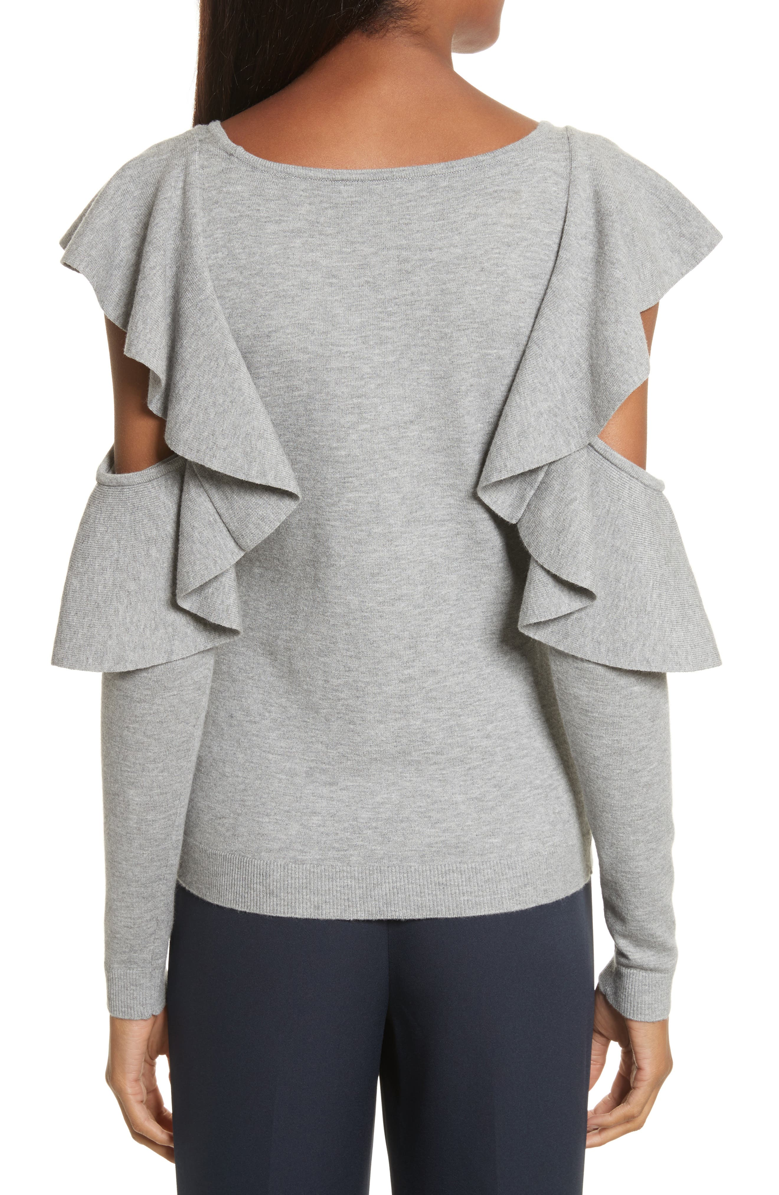 Alternate Image 2  - Milly Cutout Sleeve Top