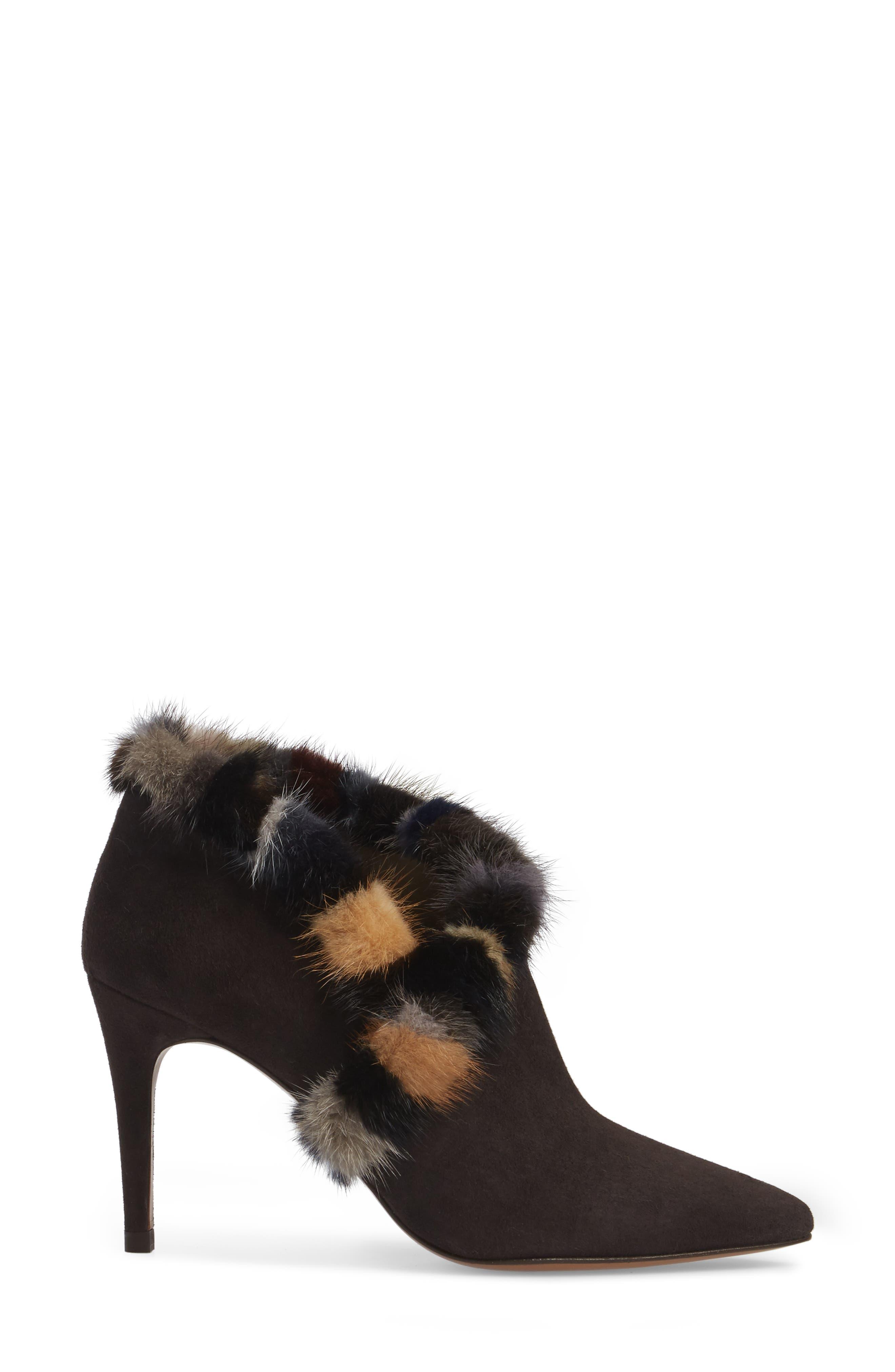 Alternate Image 3  - Donald J Pliner Renata Genuine Mink Fur Trim Bootie (Women)