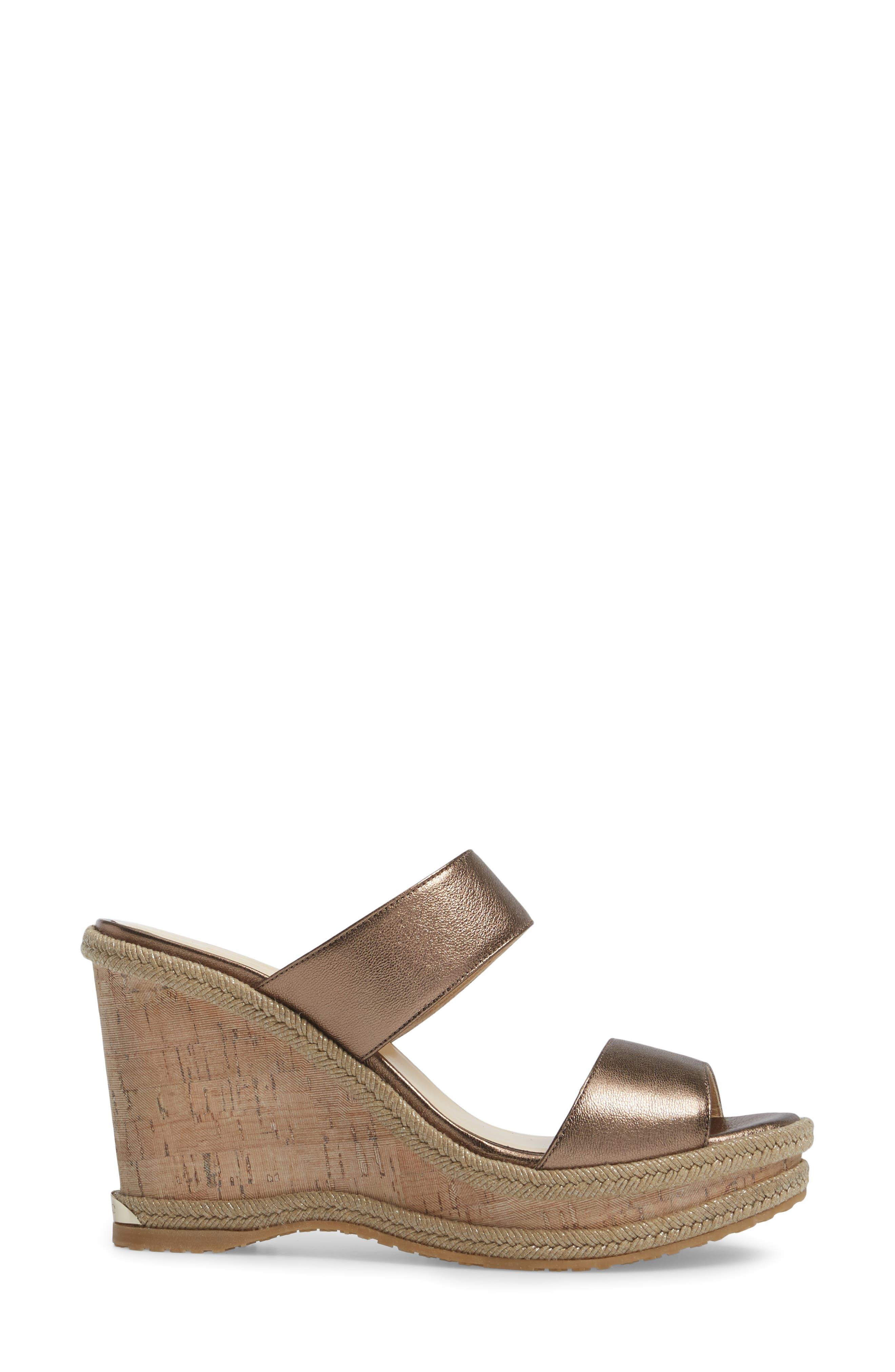 Alternate Image 3  - Jimmy Choo Parker Wedge Sandal (Women)