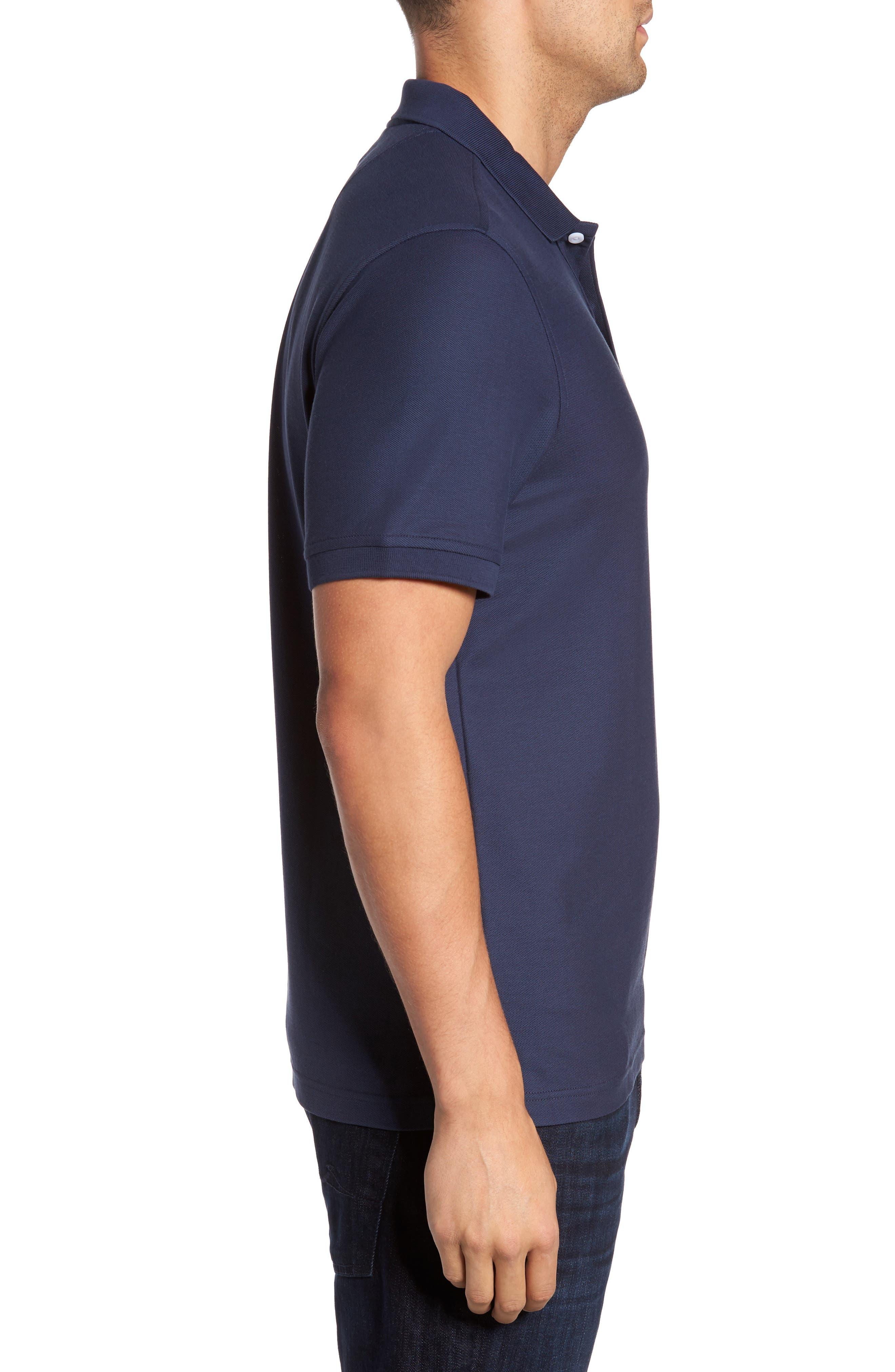 Alternate Image 3  - Nordstrom Men's Shop Piqué Polo