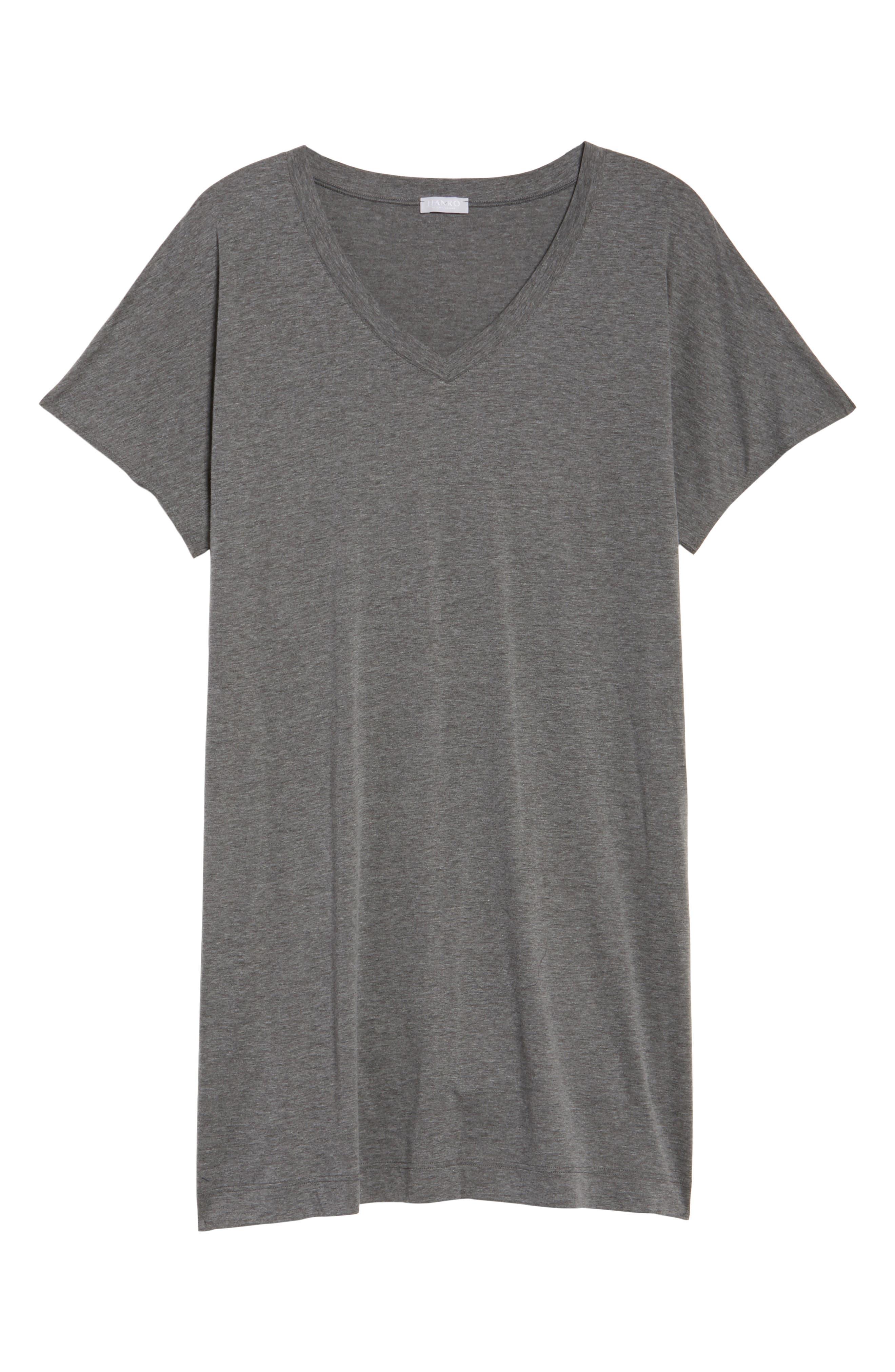 Alternate Image 4  - Hanro Laura Jersey Sleep Shirt