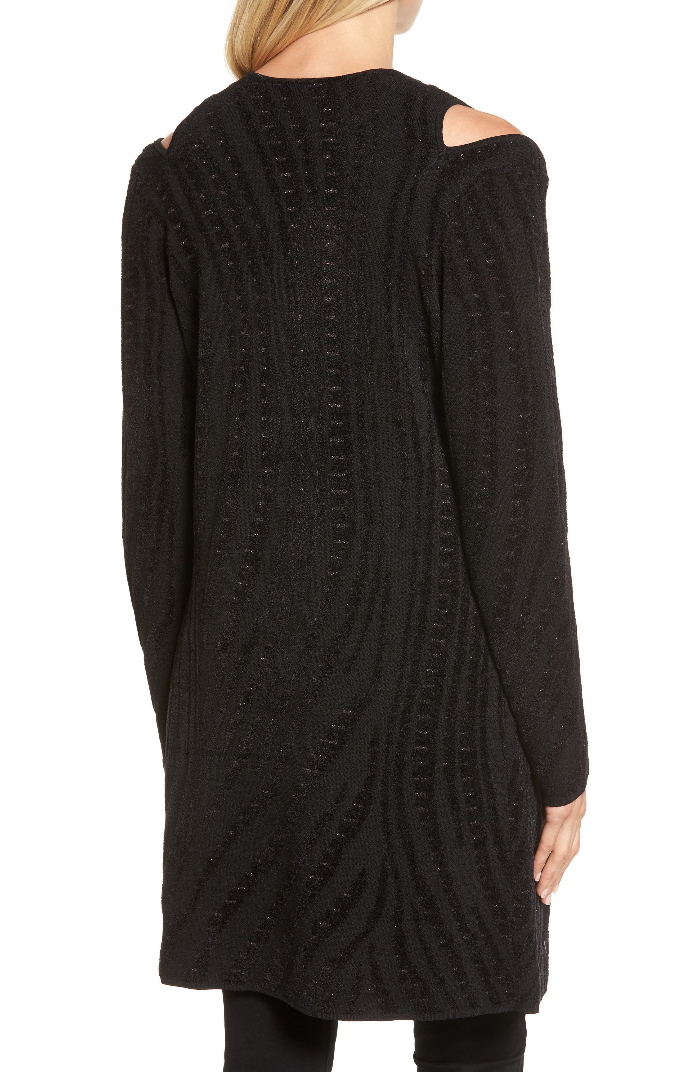 Alternate Image 2  - NIC+ZOE Winter Reign Cold Shoulder Cardigan