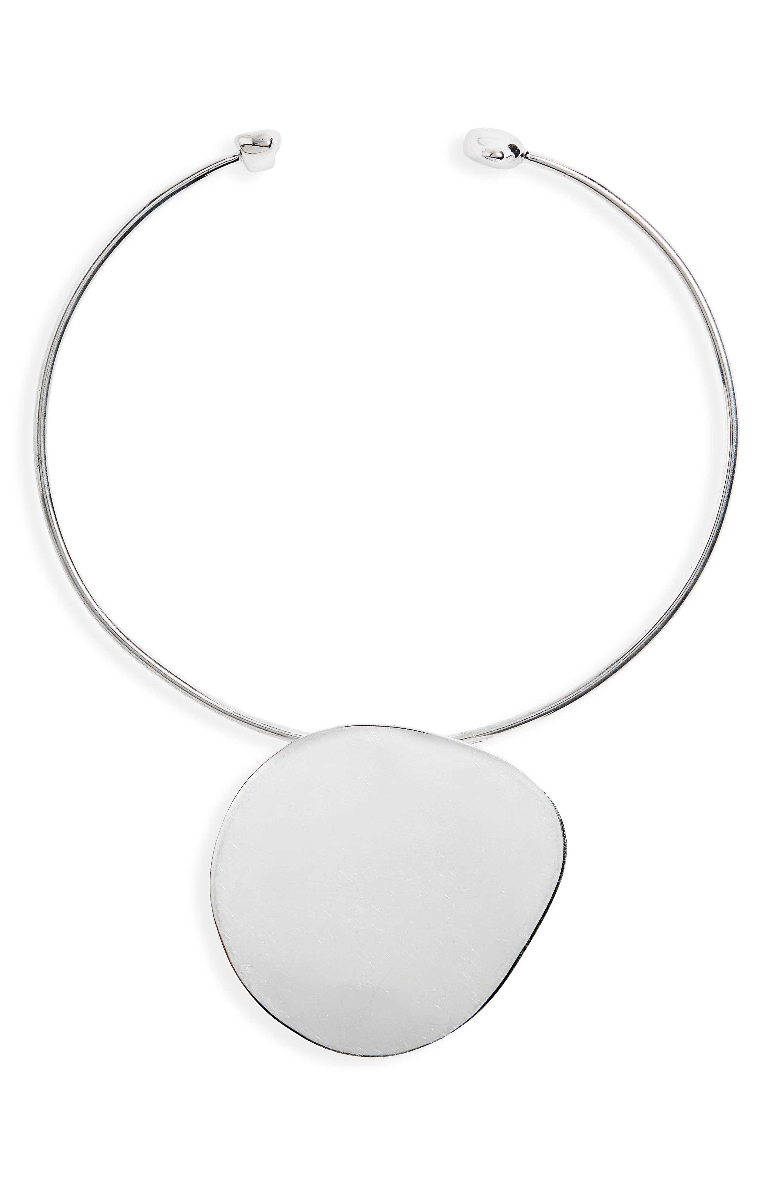 Pendo Collar Necklace,                         Main,                         color, Sterling Silver