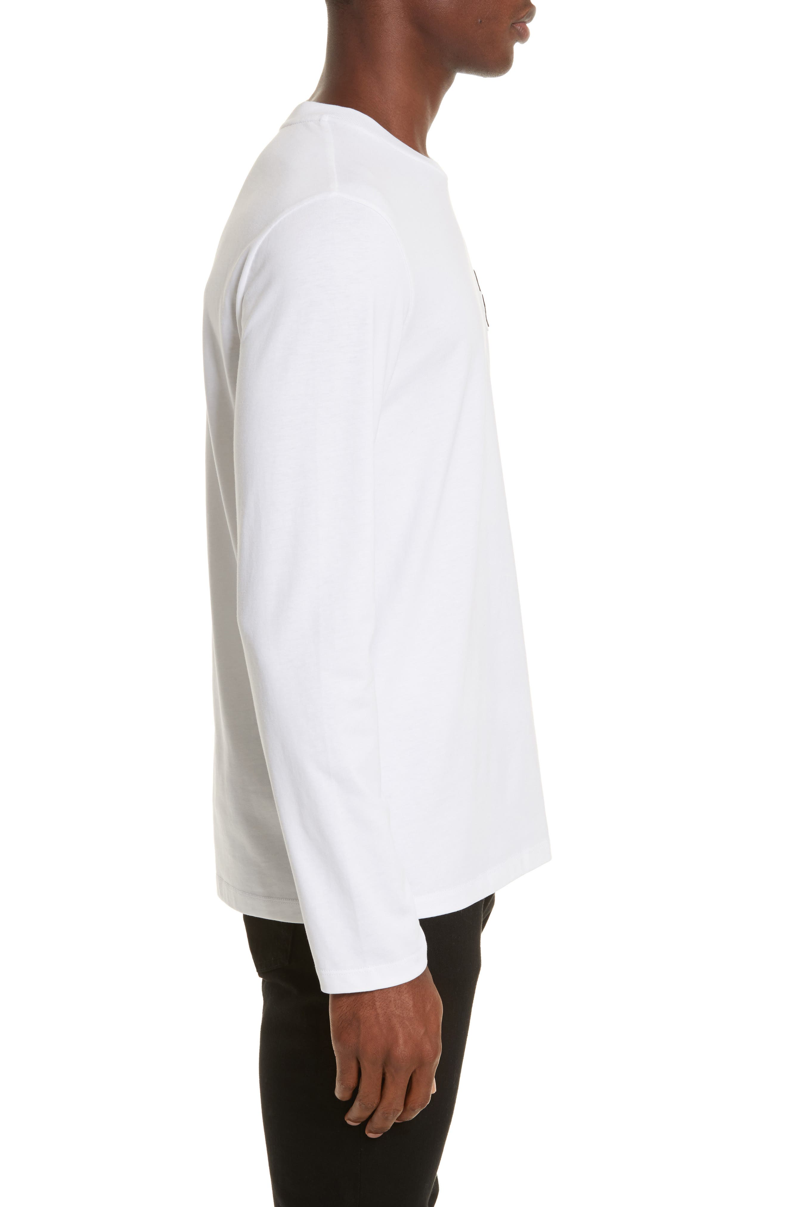 Alternate Image 3  - Moncler Maglia Griccollo Long Sleeve T-Shirt
