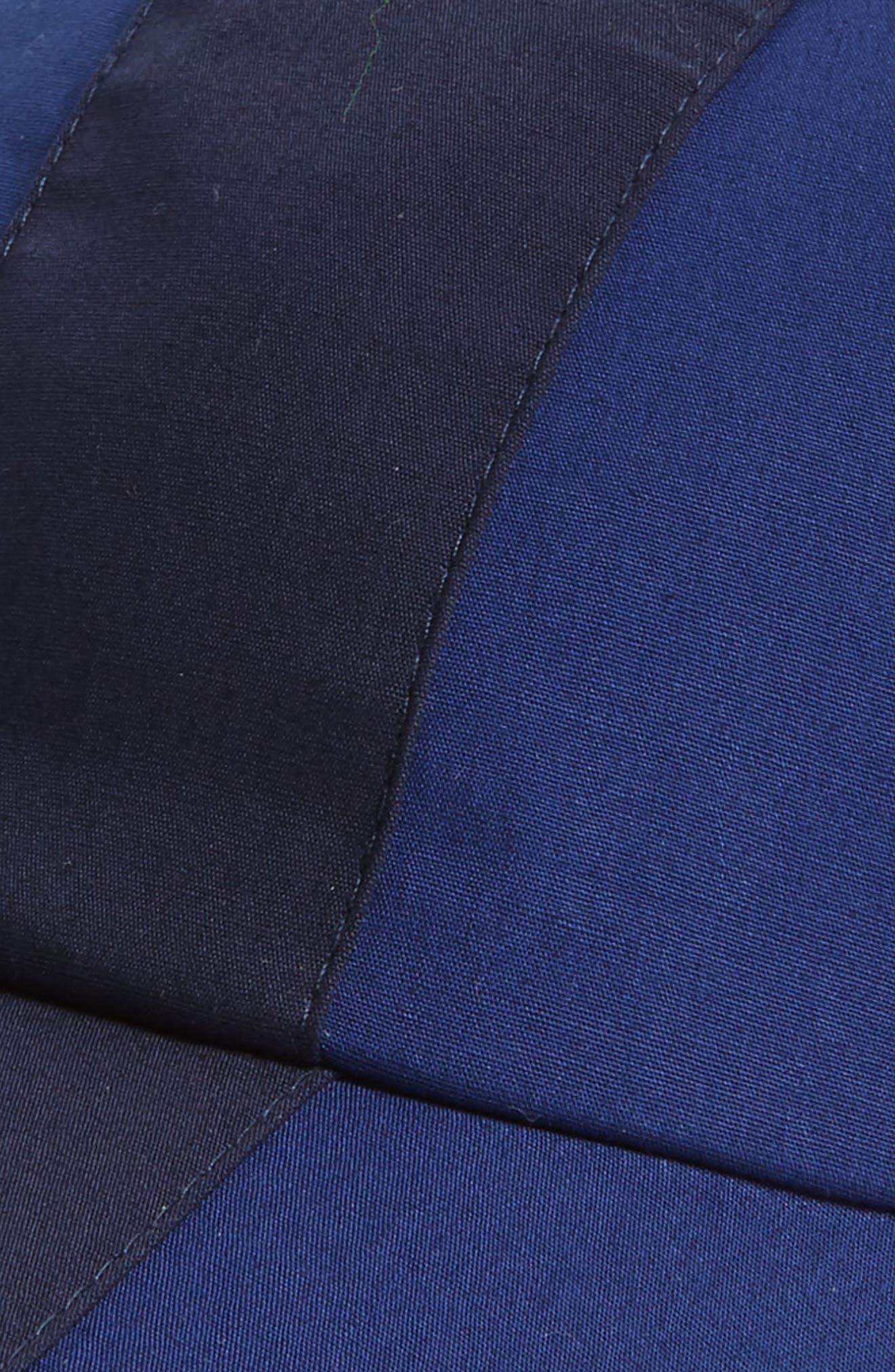 Colorblock Baseball Cap,                             Alternate thumbnail 3, color,                             Methylene/ Navy Blue