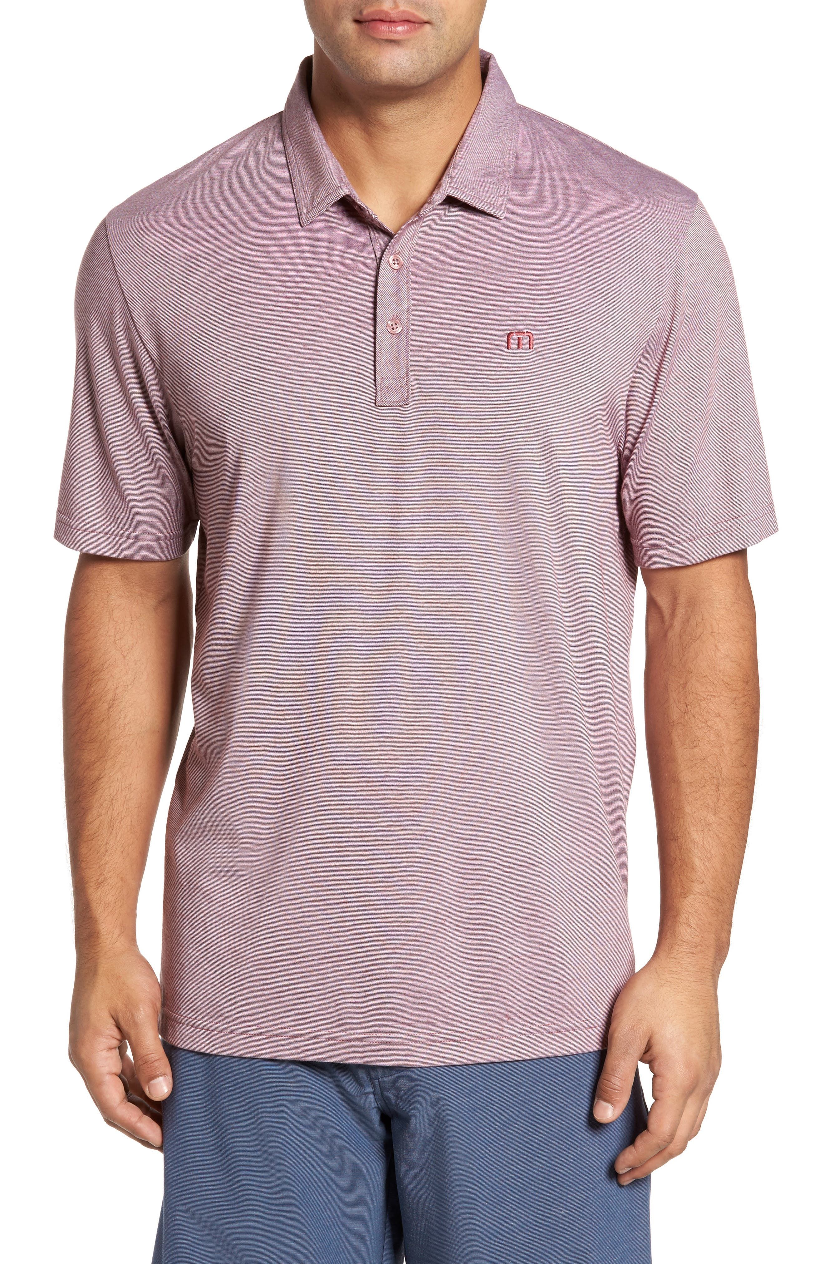 Travis Mathew The Zinna Performance Polo