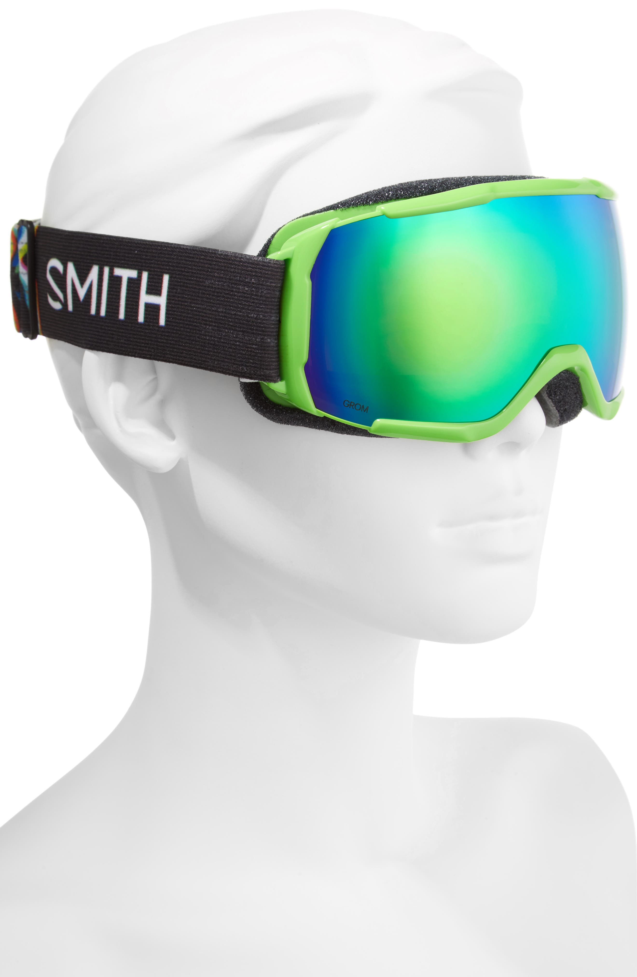 Grom Snow Goggles,                             Alternate thumbnail 3, color,                             Reactor Tracking/ Mirror