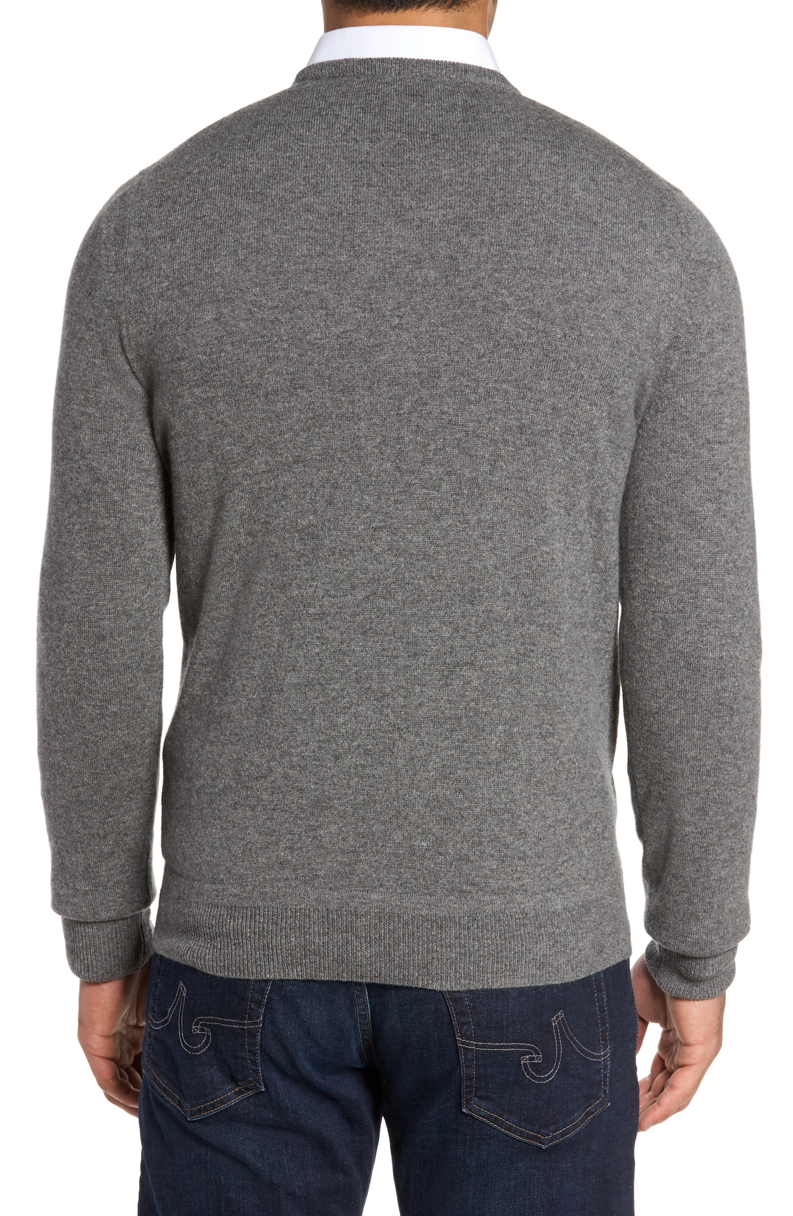 Alternate Image 2  - Monte Rosso V-Neck Cashmere Sweater