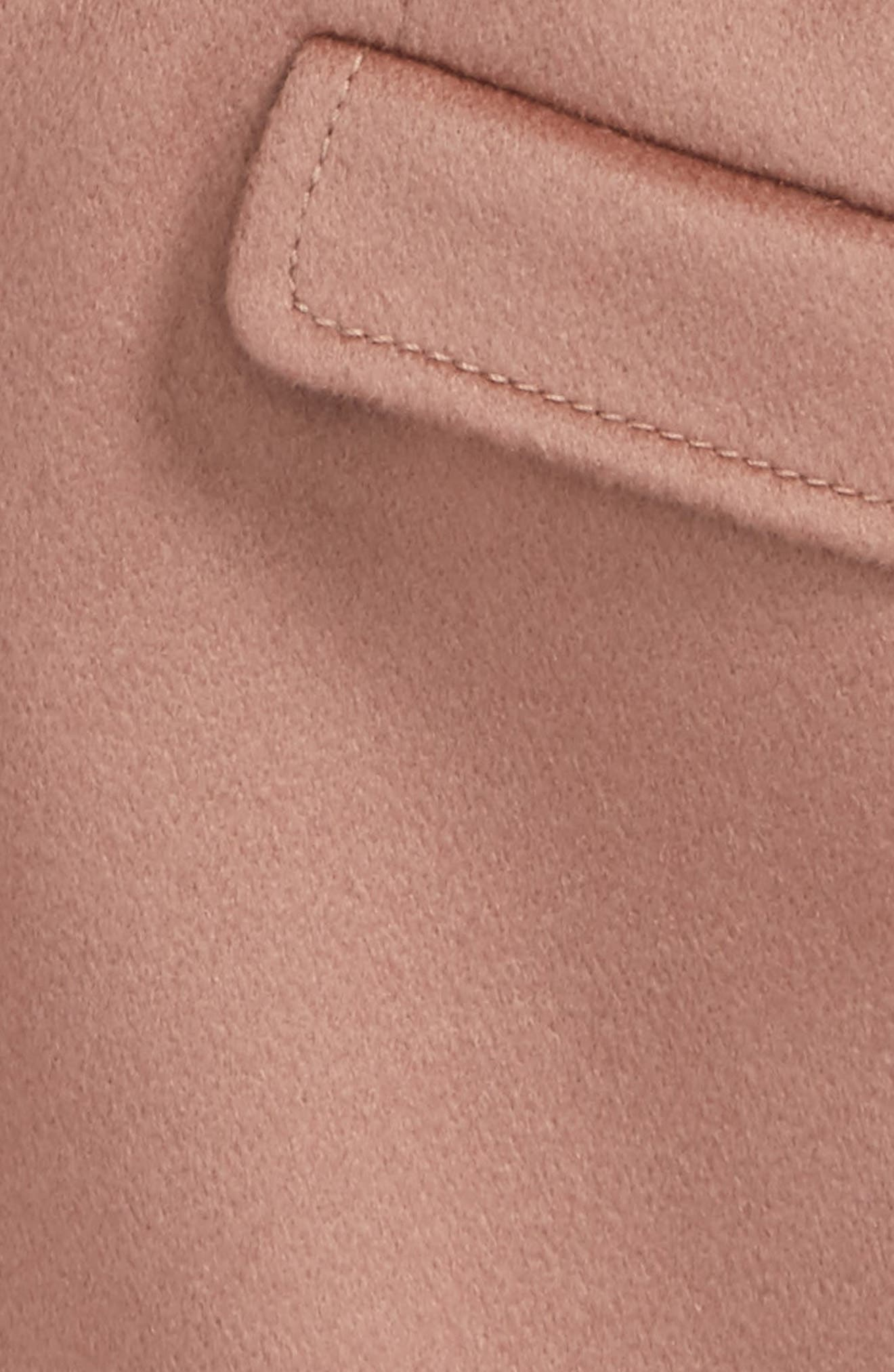Mini Bridget Cashmere Coat,                             Alternate thumbnail 2, color,                             Antique Rose
