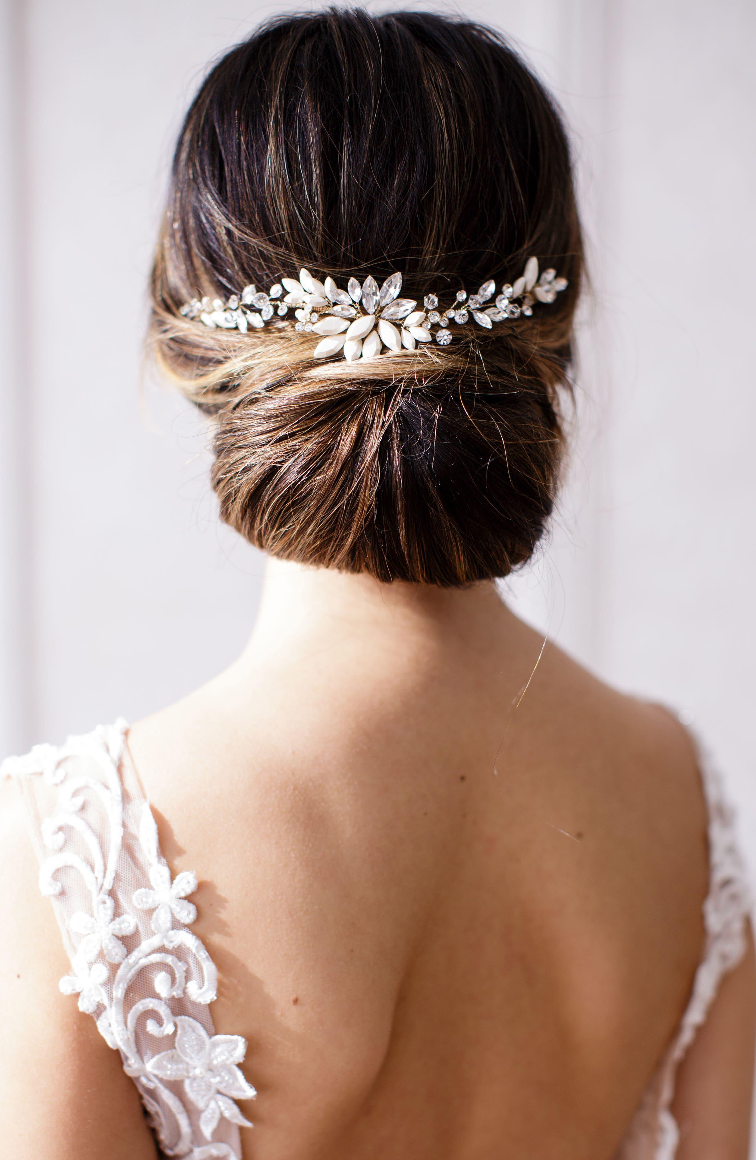 Brides U0026 Hairpins Rhea Halo With Combs