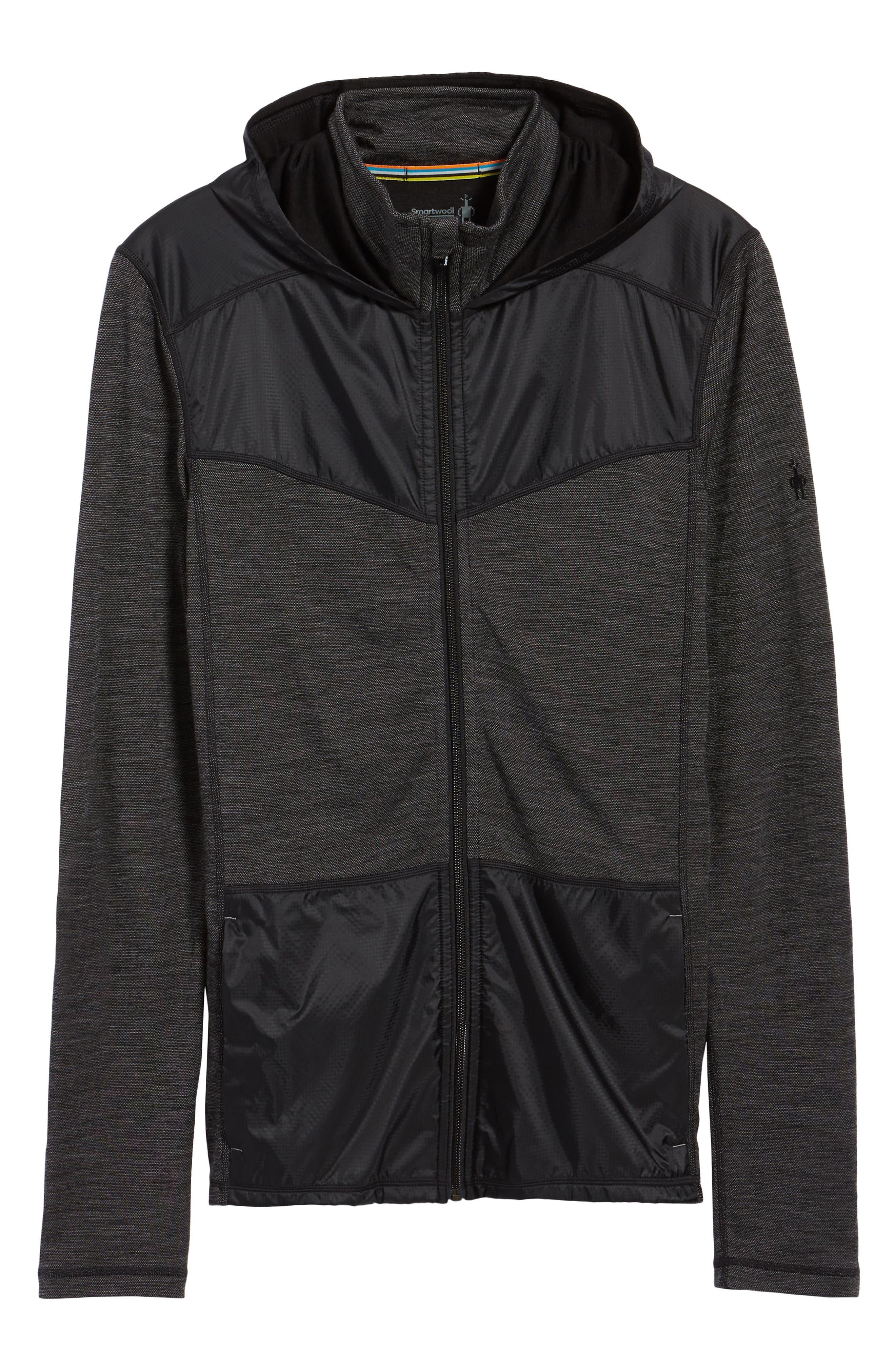 250 Sport Merino Wool Jacket,                             Alternate thumbnail 6, color,                             Black