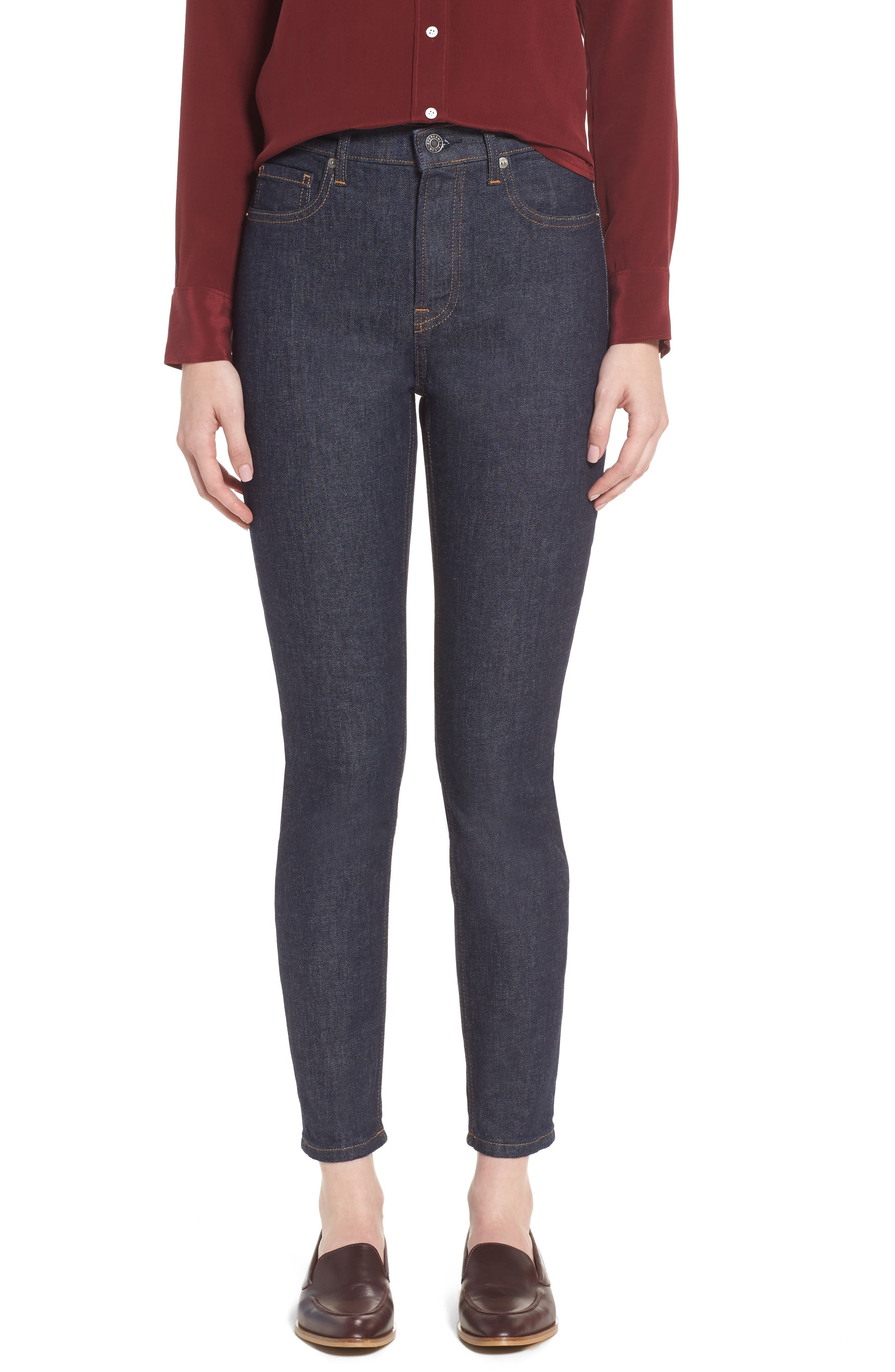 Main Image - Everlane The High Rise Skinny Jeans