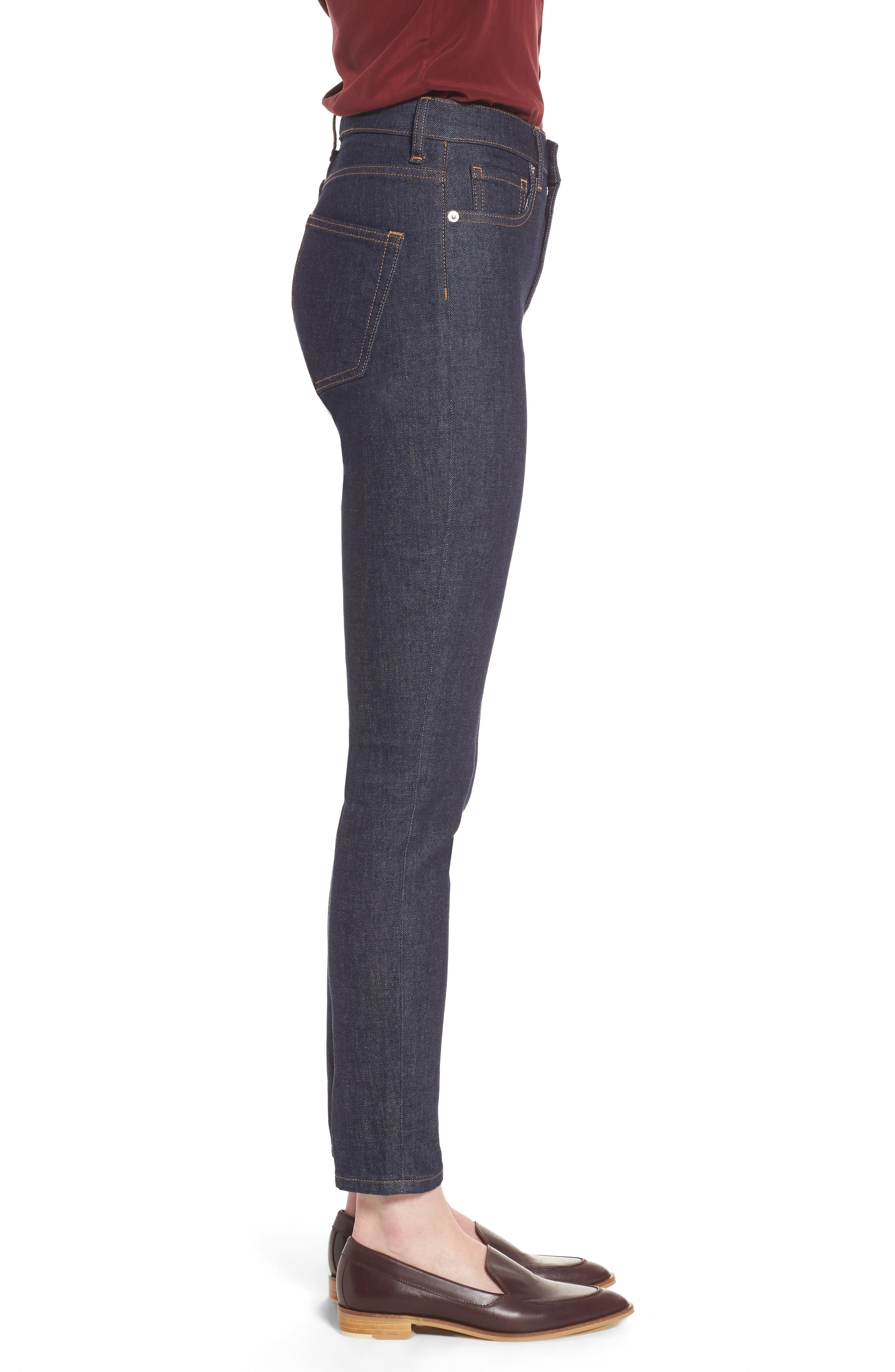 Alternate Image 3  - Everlane The High Rise Skinny Jeans