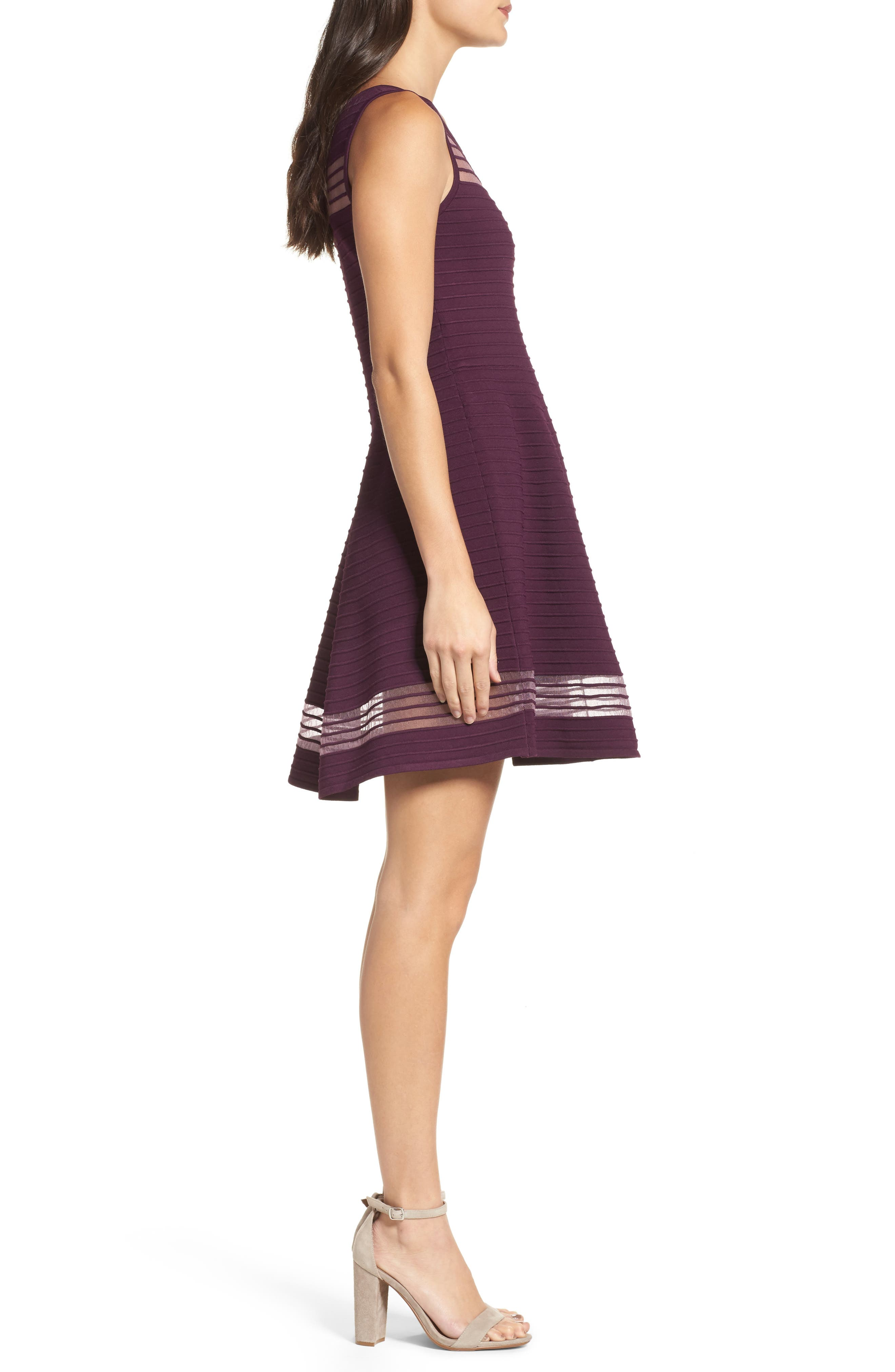 Alternate Image 3  - French Connection Tobey Fit & Flare Dress