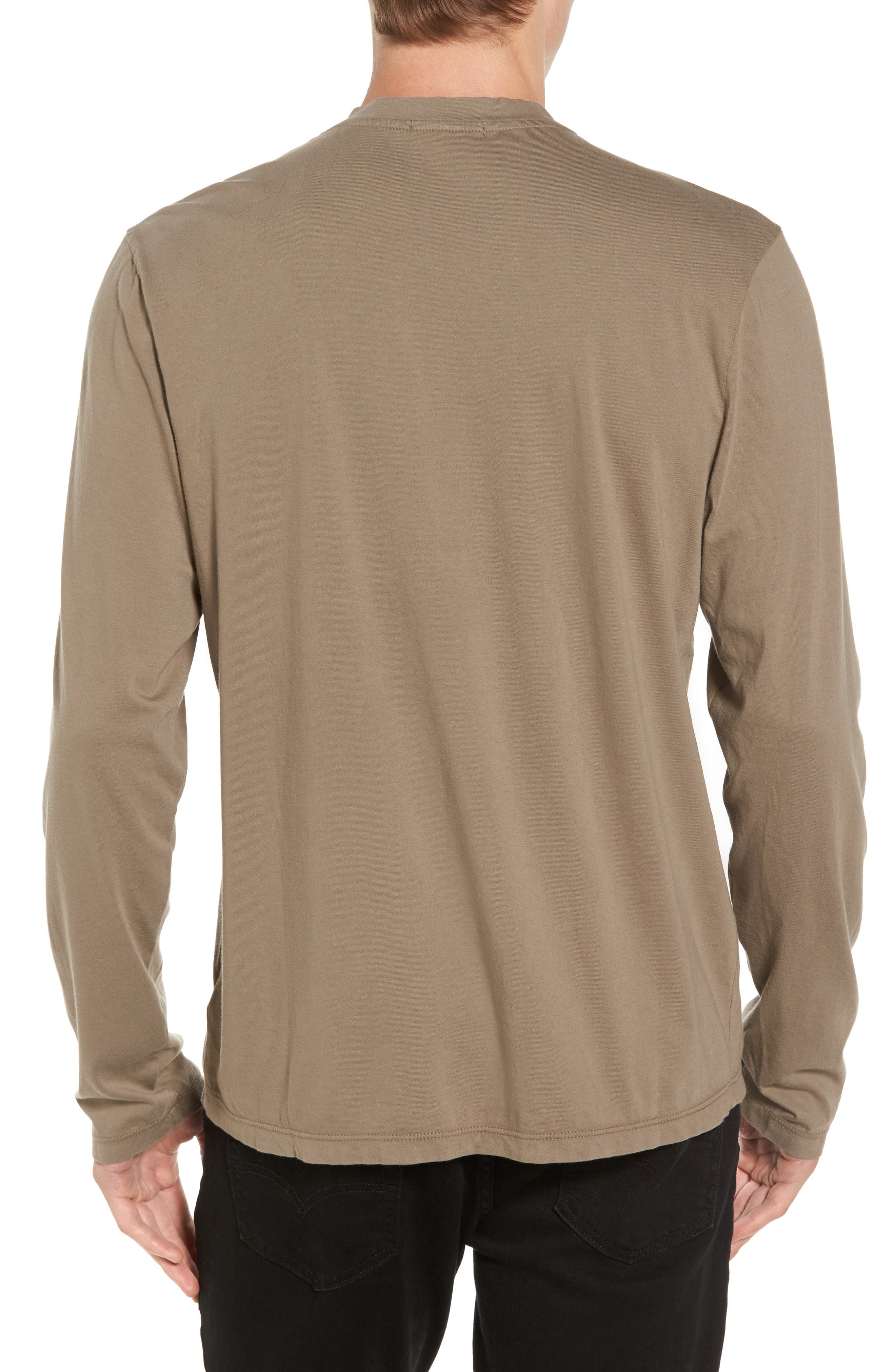 Alternate Image 2  - James Perse Suvin V-Neck Sweatshirt
