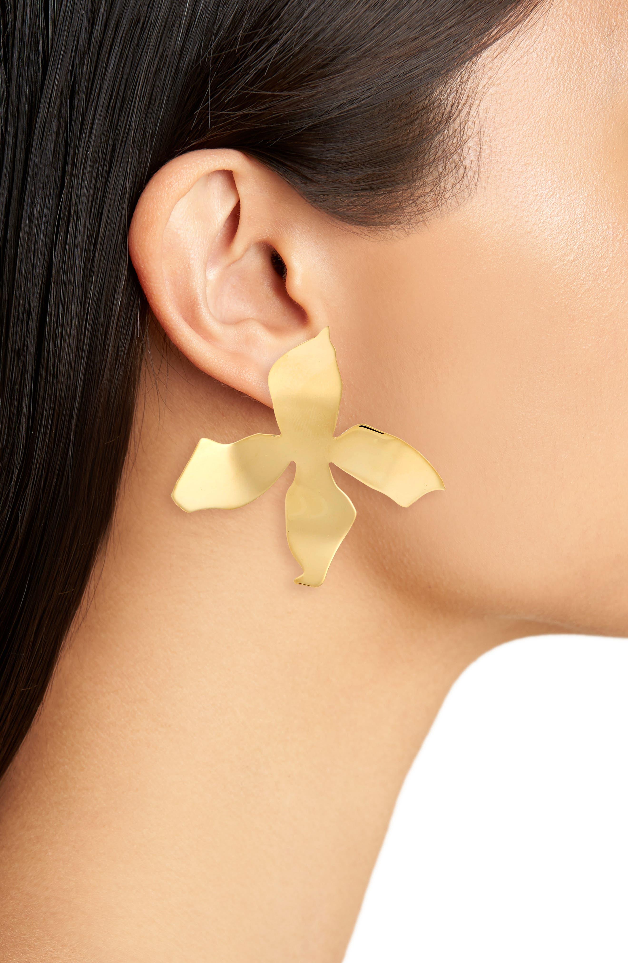 Alternate Image 2  - FARIS Large Ladyday Drop Earrings