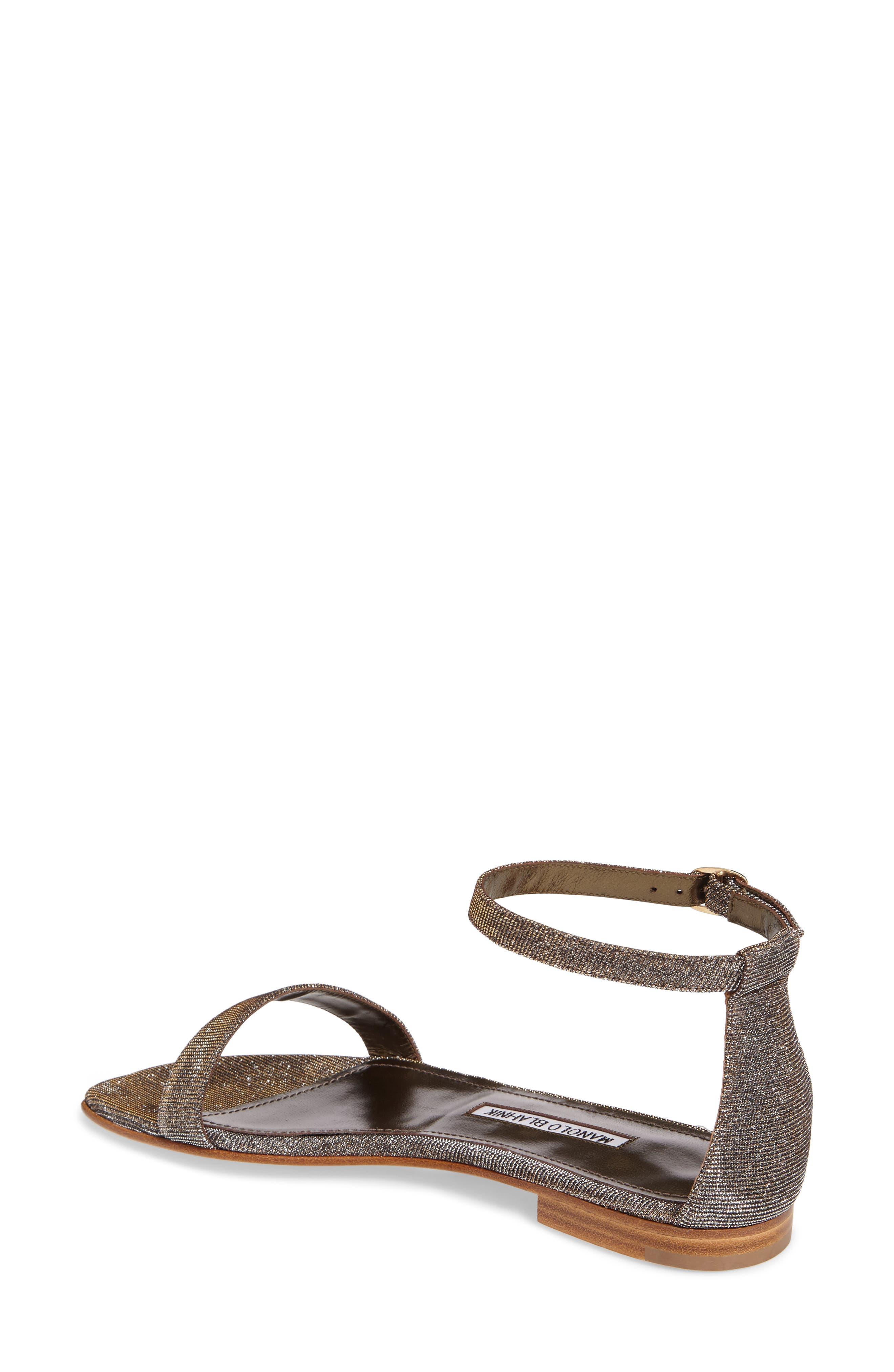 Alternate Image 2  - Manolo Blahnik Chafla Ankle Strap Sandal (Women)