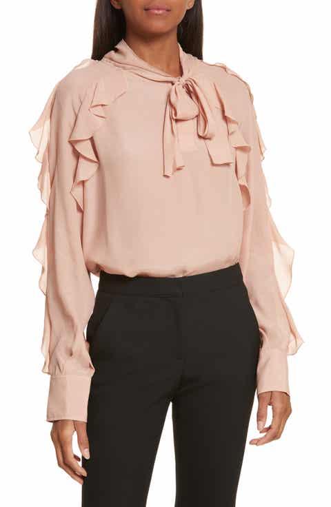 Women's Pink Long Sleeve Tops & Tees | Nordstrom