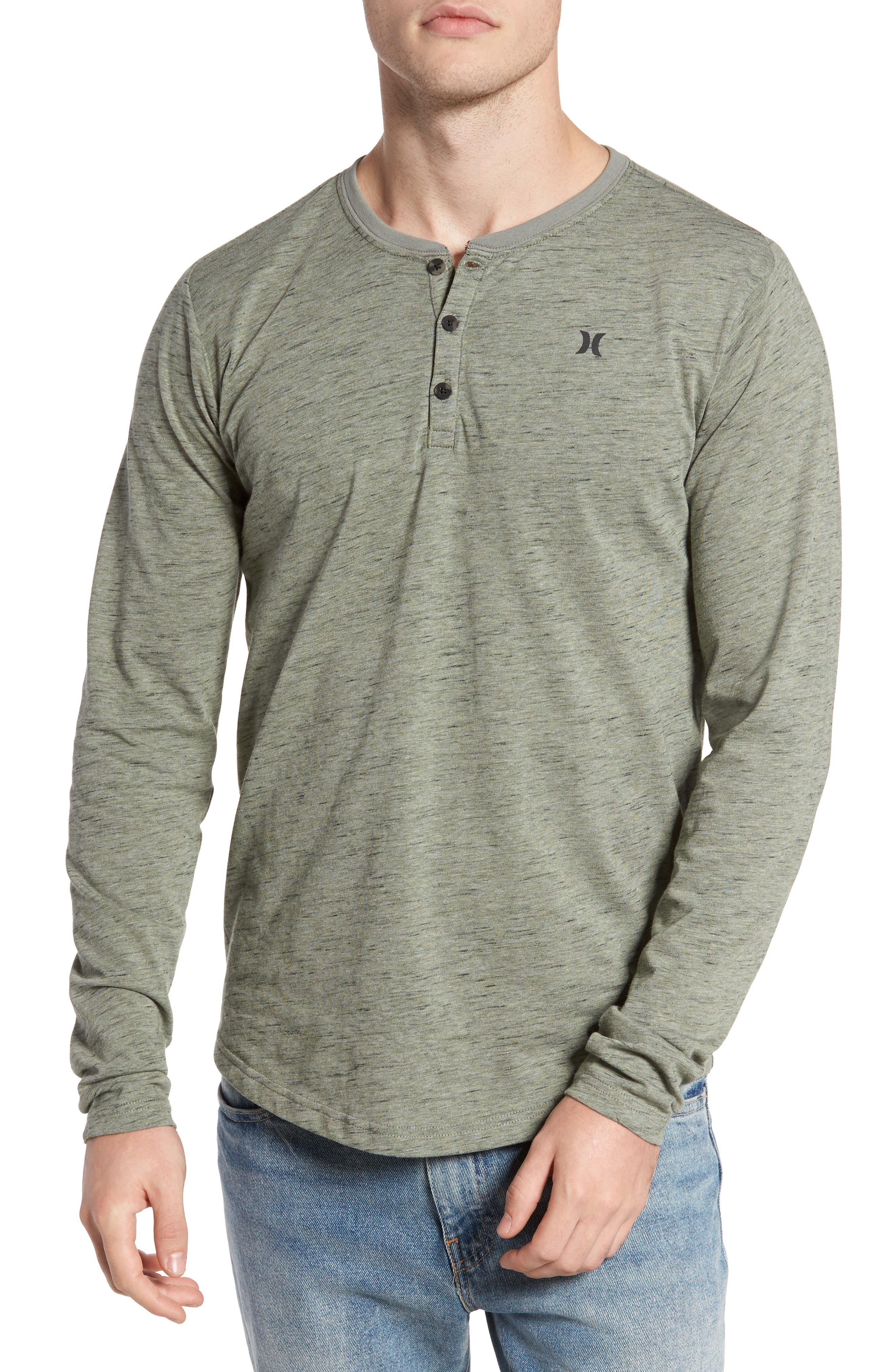 Hurley San Clemente Dri-FIT Henley