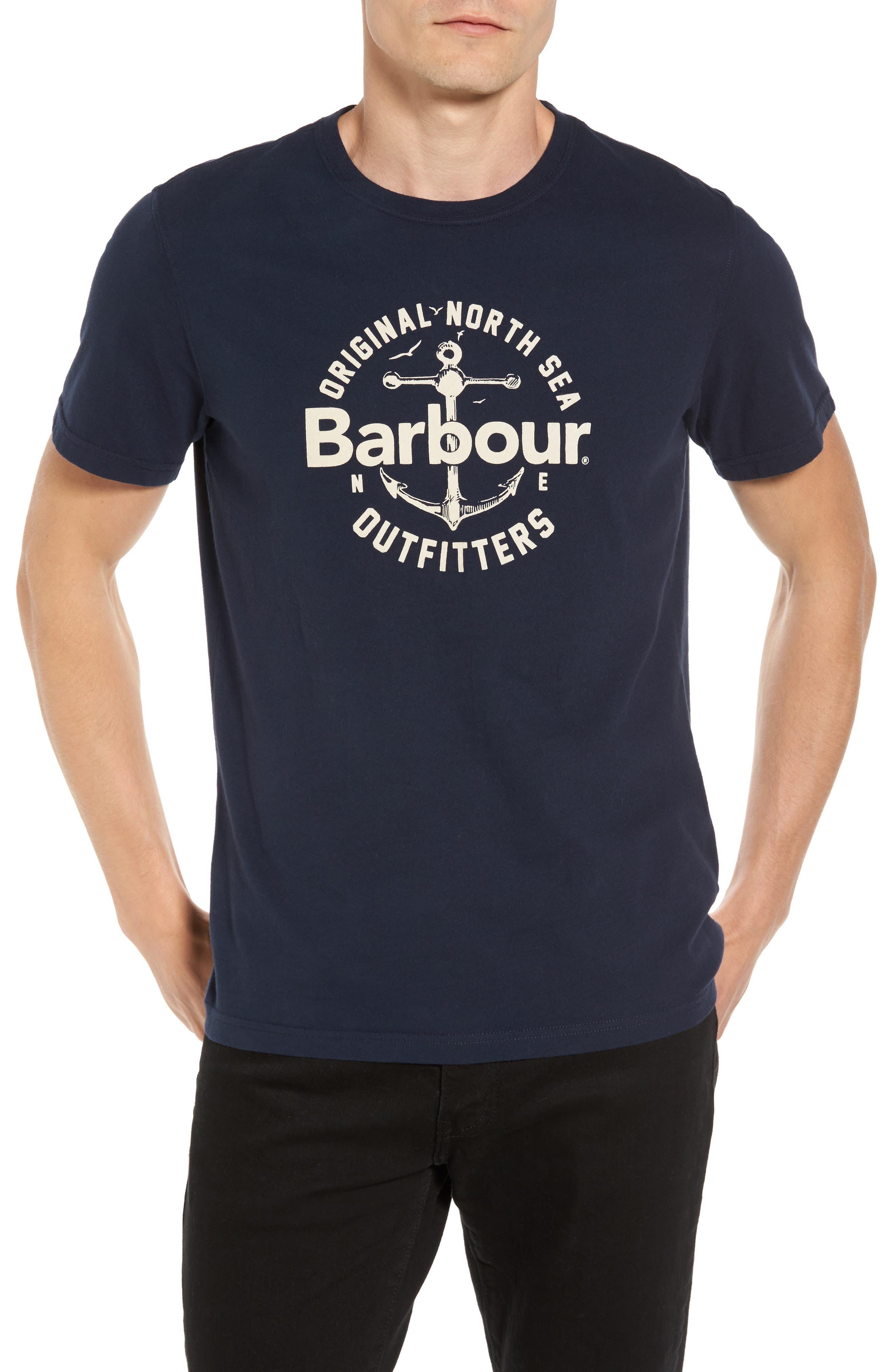 Berwick Logo Graphic T-Shirt,                         Main,                         color, Navy