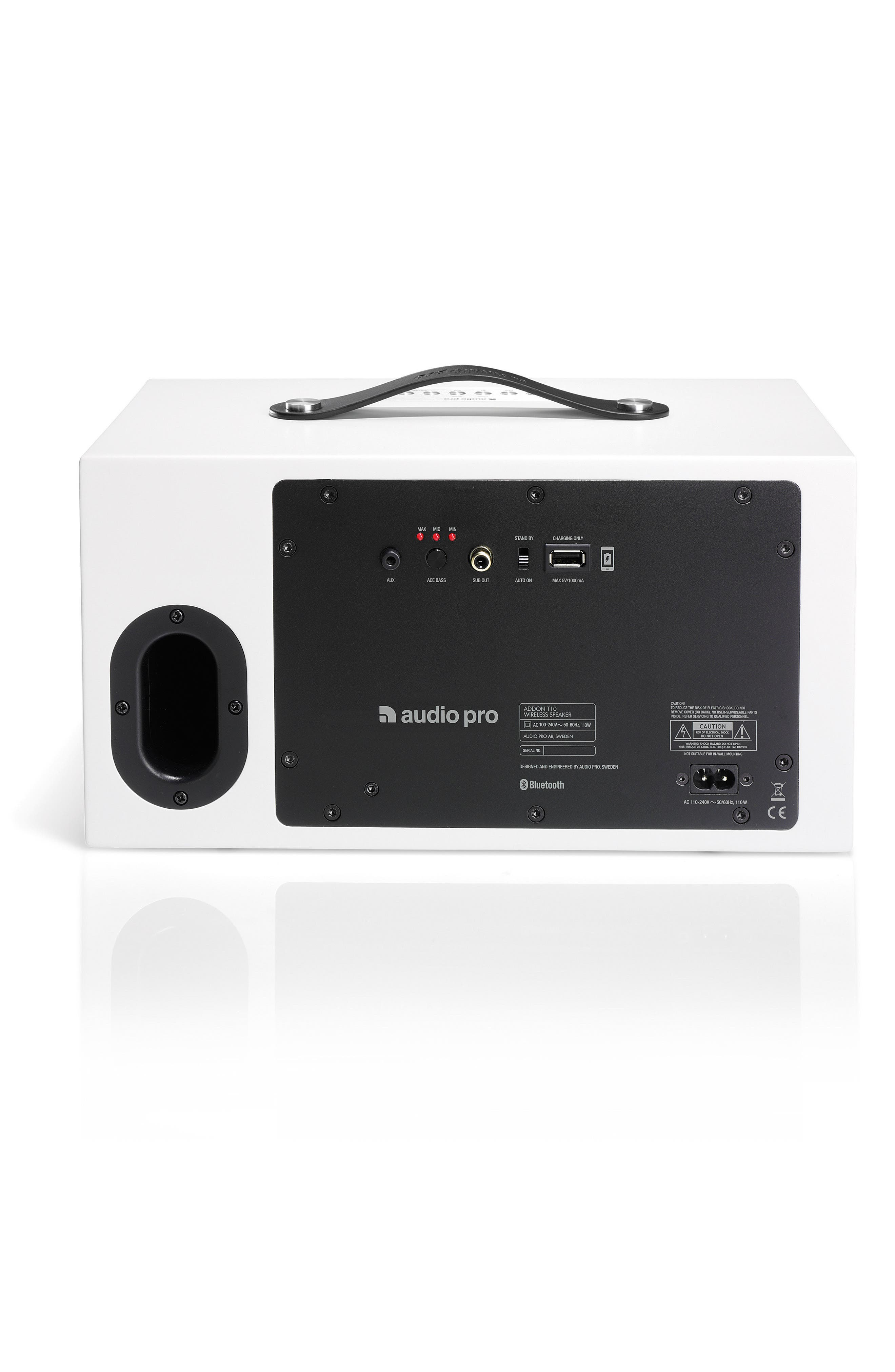 Addon T10 Wireless Bluetooth<sup>®</sup> Speaker,                             Alternate thumbnail 2, color,                             Arctic White