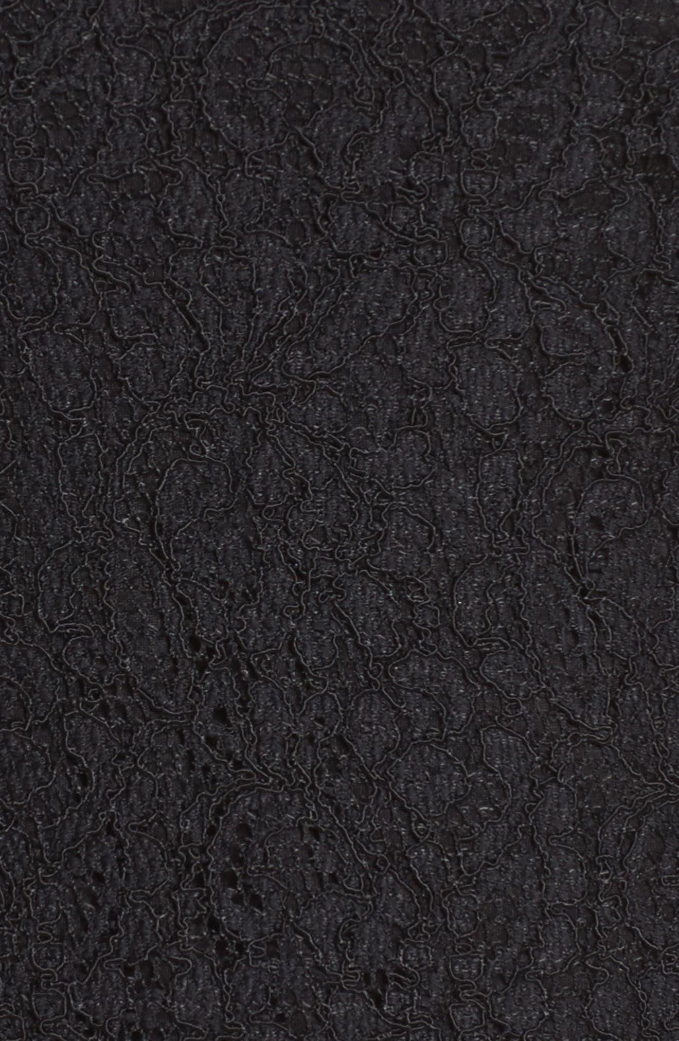 Alternate Image 5  - Adrianna Papell Lace Overlay Sheath Dress (Plus Size)