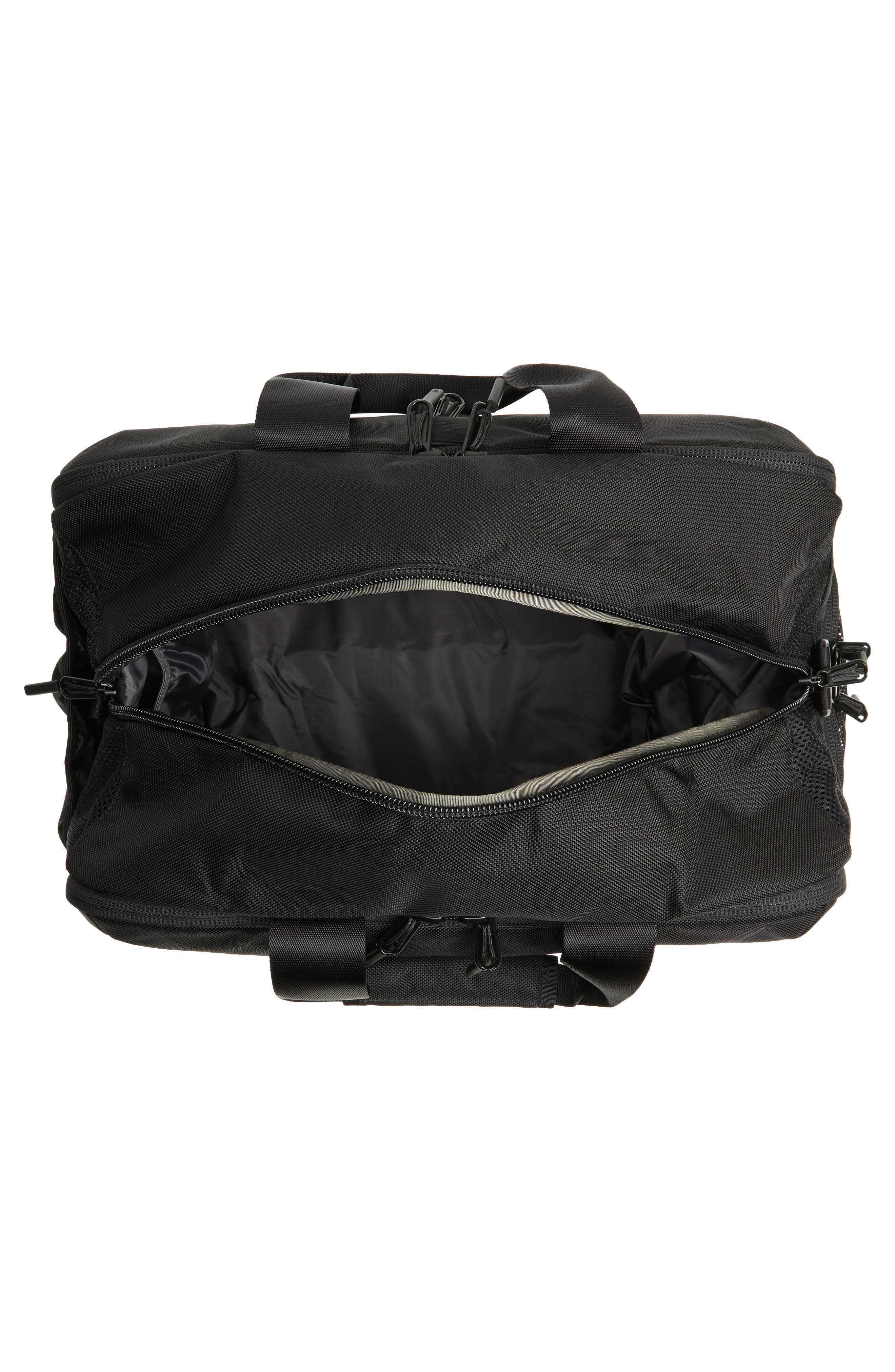 Gym Duffel 2 Bag,                             Alternate thumbnail 4, color,                             Black