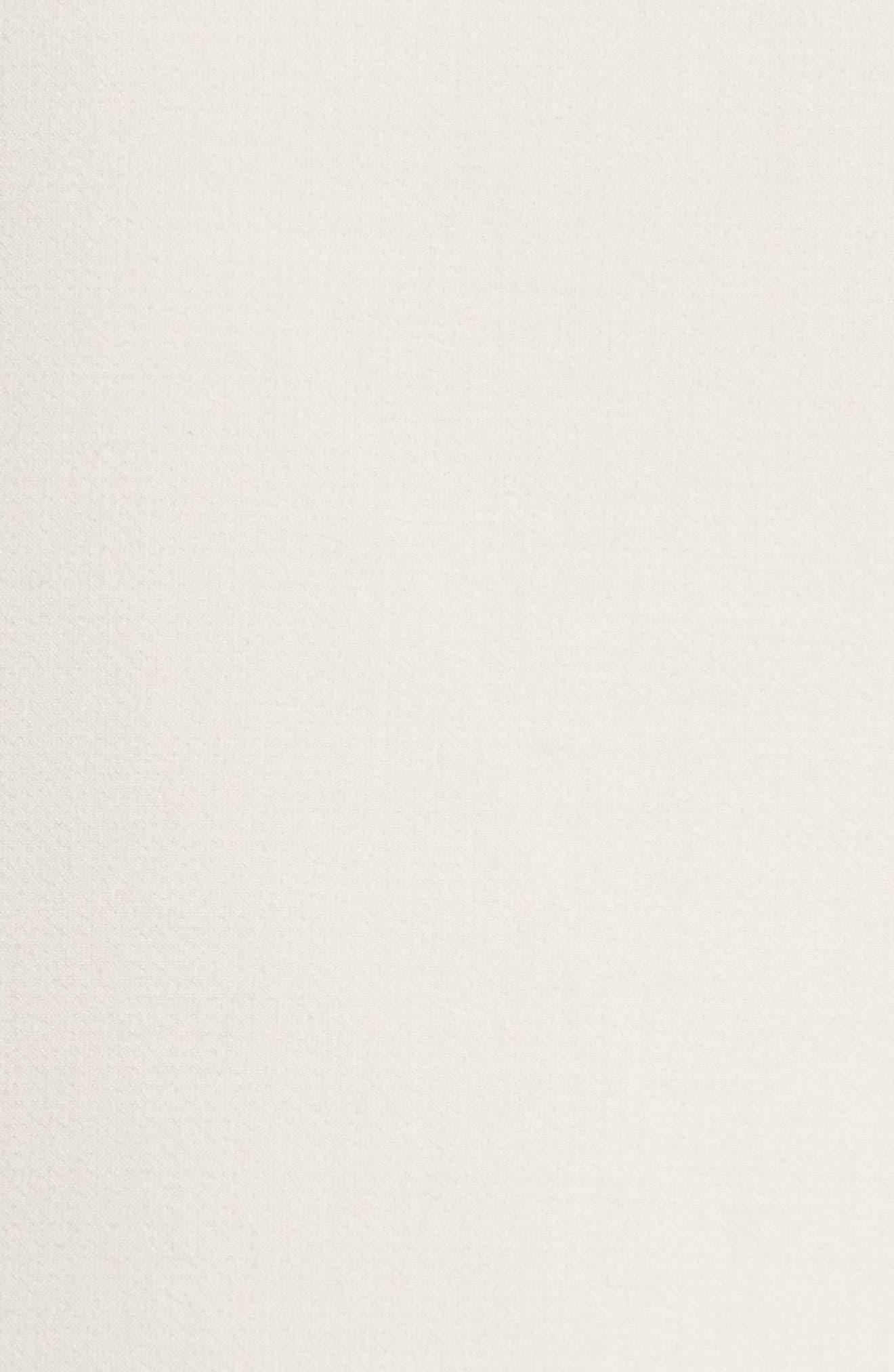 Armani Jeans Crepe Wrap Skirt,                             Alternate thumbnail 5, color,                             Beige