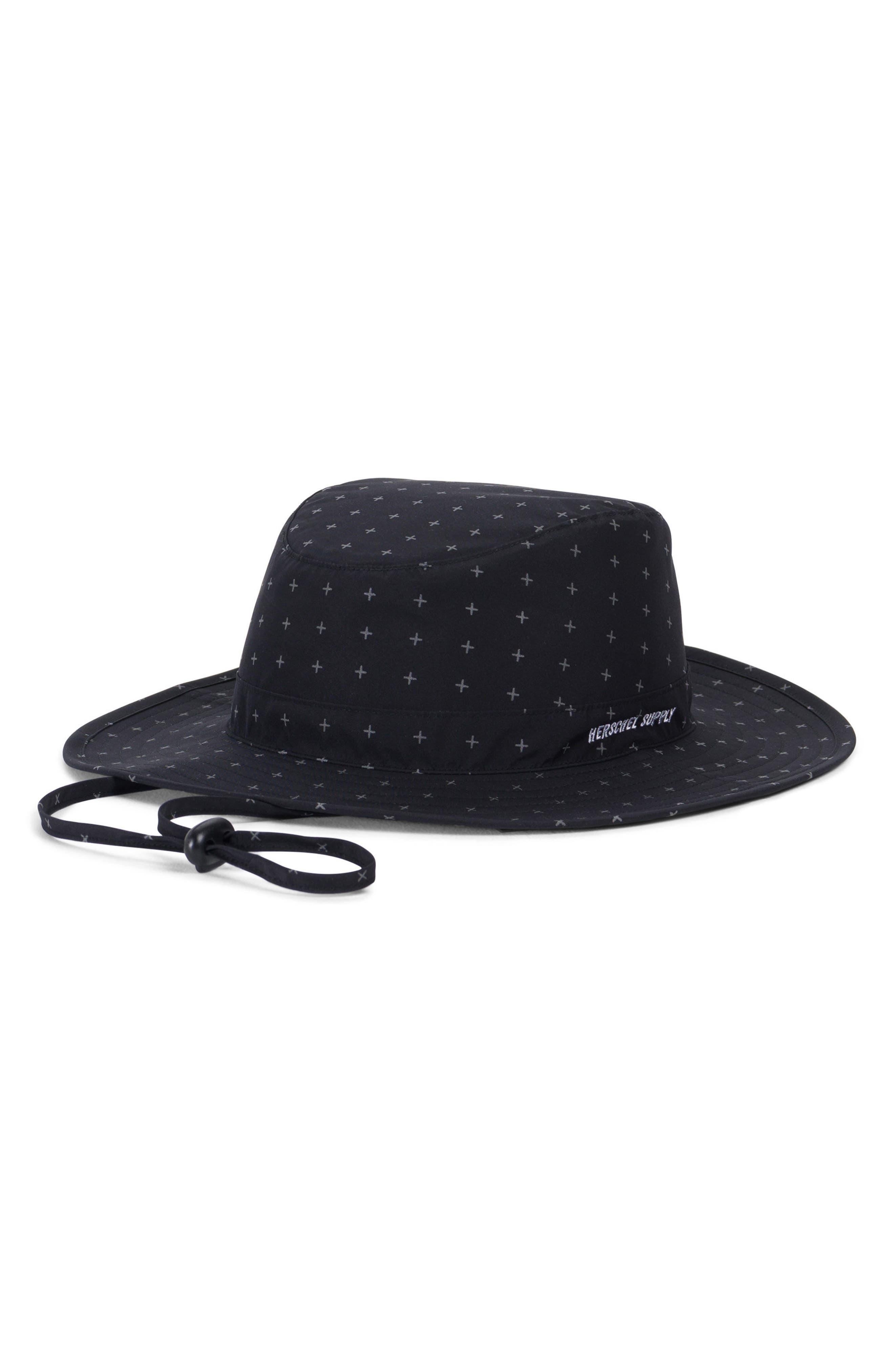 Creek Gore-Tex<sup>®</sup> Bucket Hat,                         Main,                         color, Black Gridlock